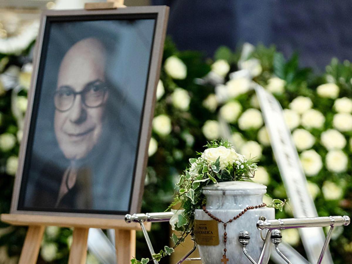 Pogrzeb Piotra Machalicy. Grób Piotra Machalicy w Częstochowie