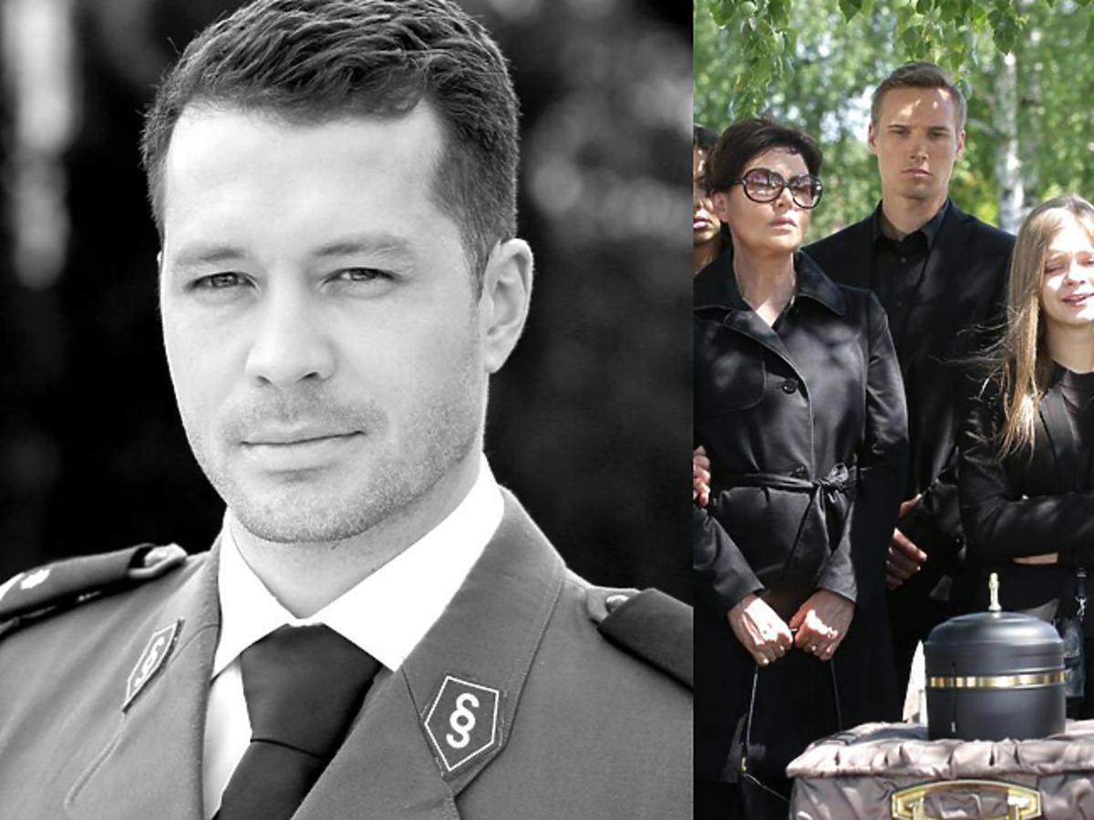 Pogrzeb Tomka w M jak miłość odc.1313