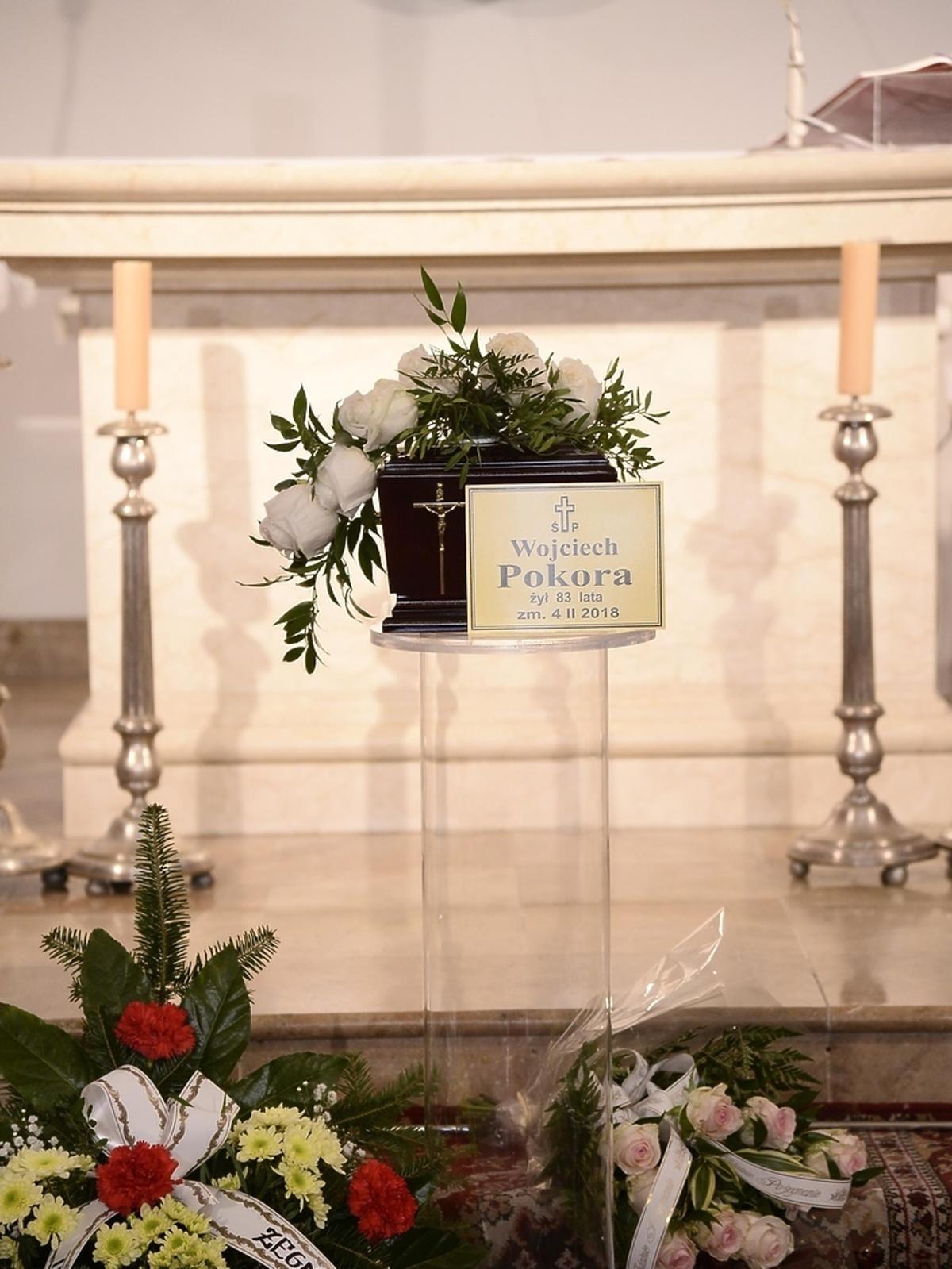 Pogrzeb Wojciecha Pokory - zdjęcia