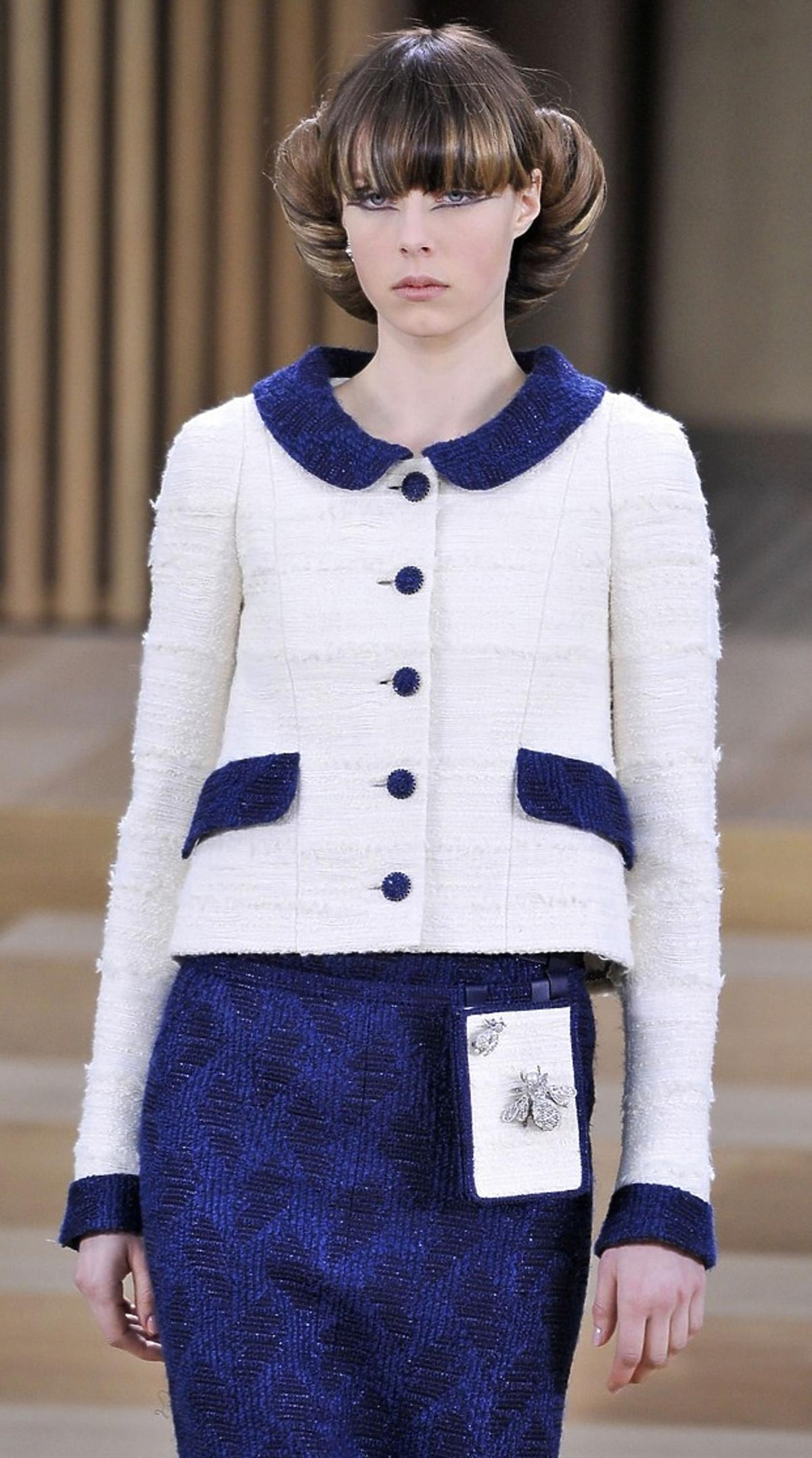 Pokaz Chanel haute couture wiosna 2016