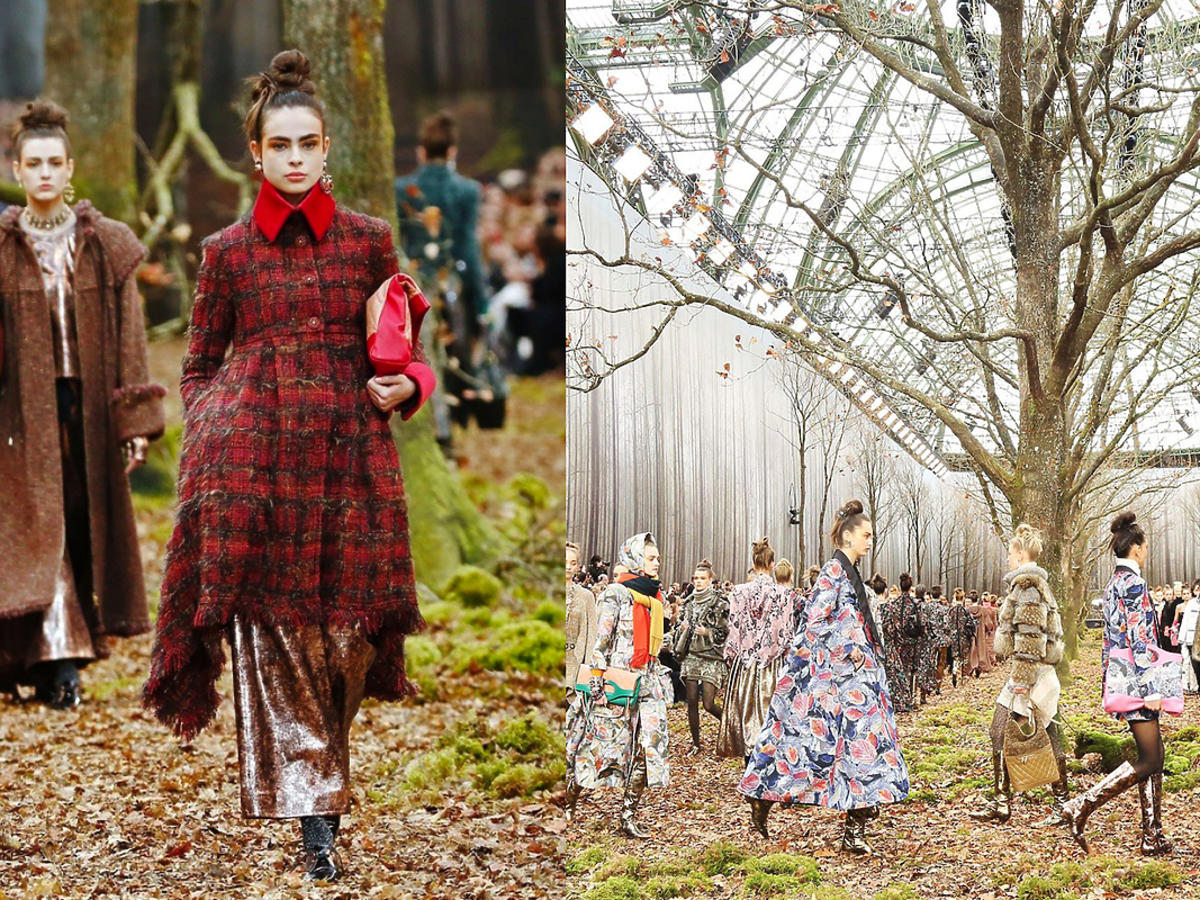 Pokaz Chanel jesień/zima 18