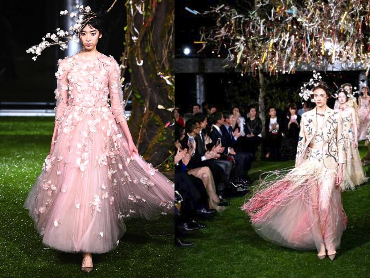 Pokaz Dior haute couture w Tokio