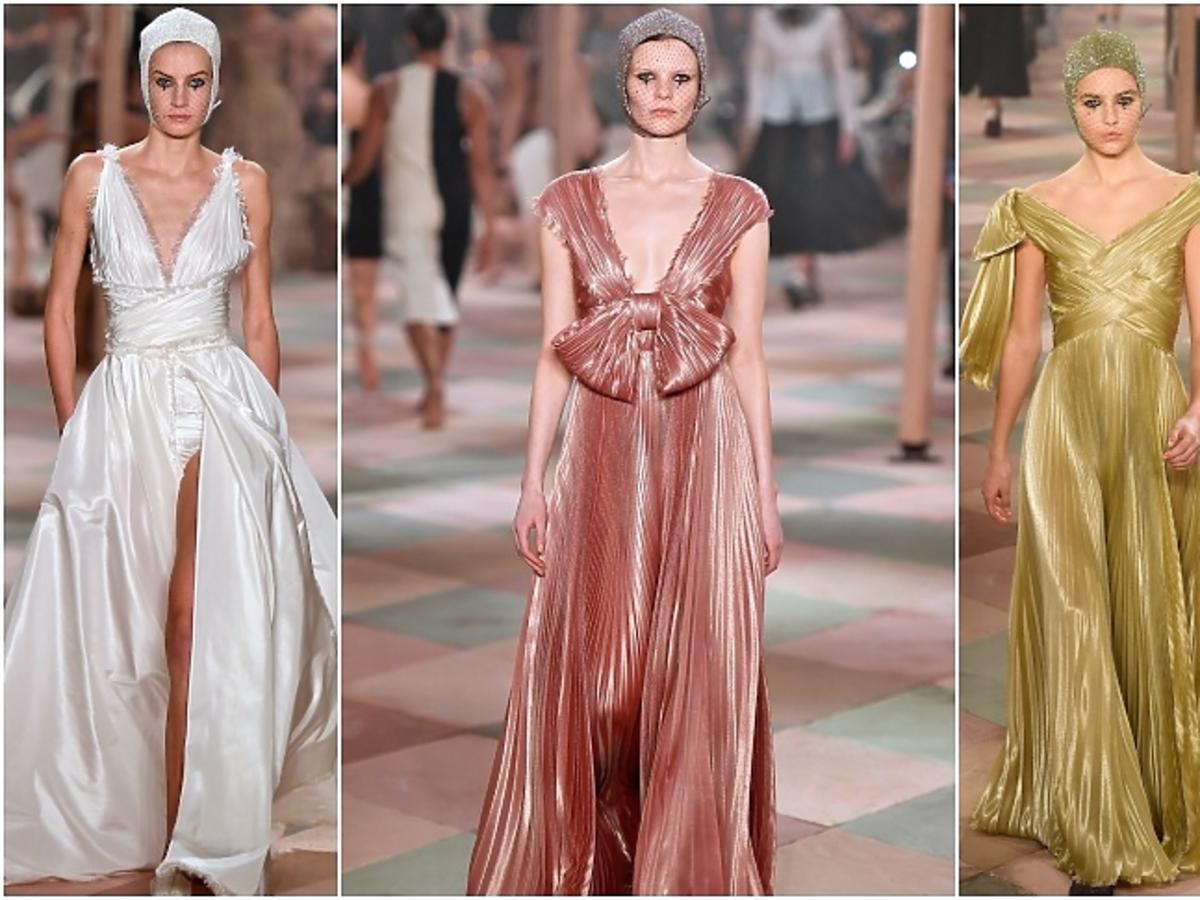 Pokaz Diora haute couture wiosna-lato 2019