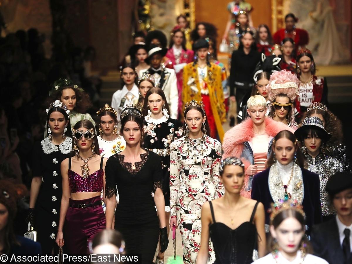 Pokaz Dolce & Gabbana jesień/zima 18