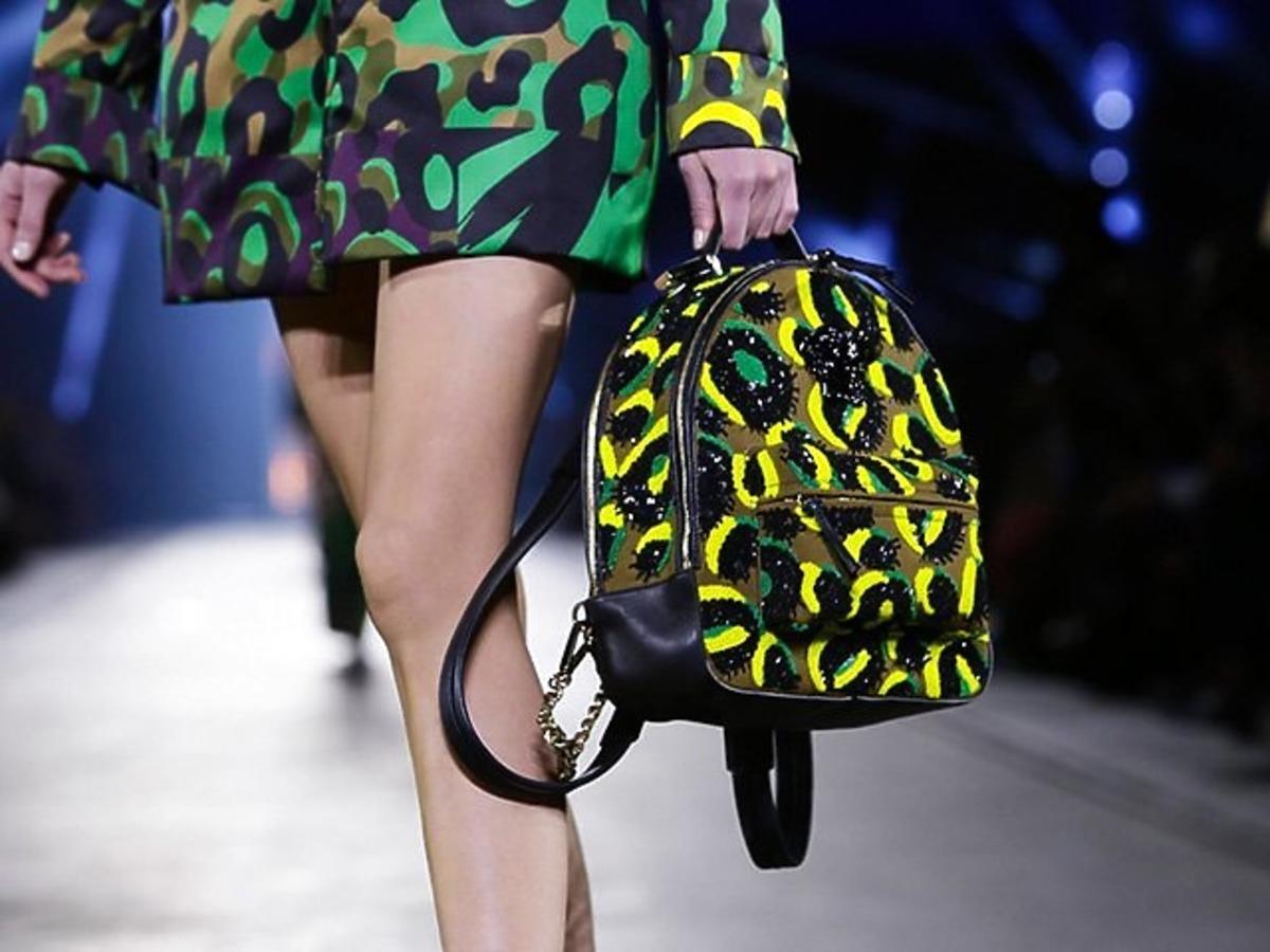 Pokaz Versace na wiosnę 2016