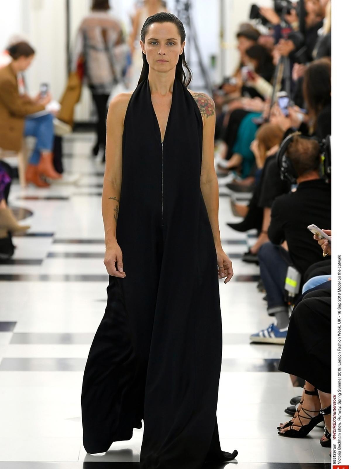 Pokaz Victorii Beckham na London Fashion Week