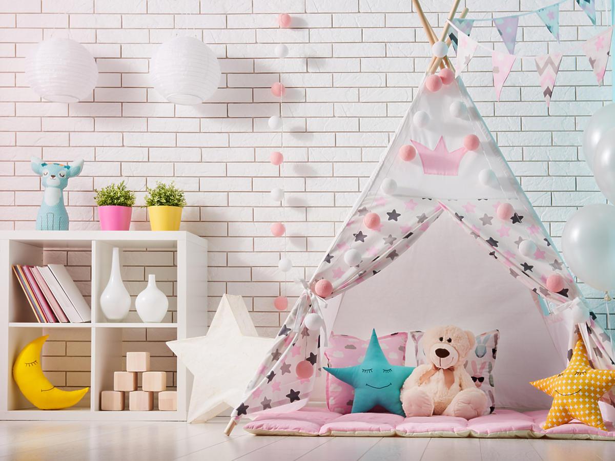 pokoj dziecka z namiotem