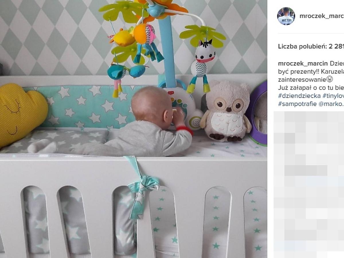 Pokój syna Marcin Mroczka