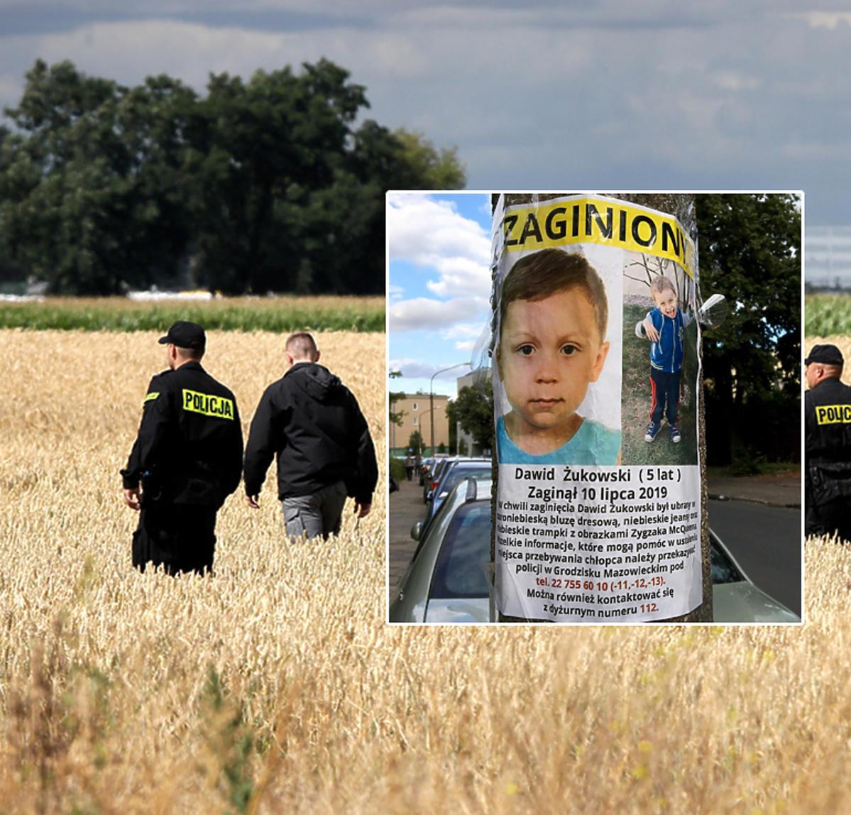 Policja szuka 5-letniego Dawida