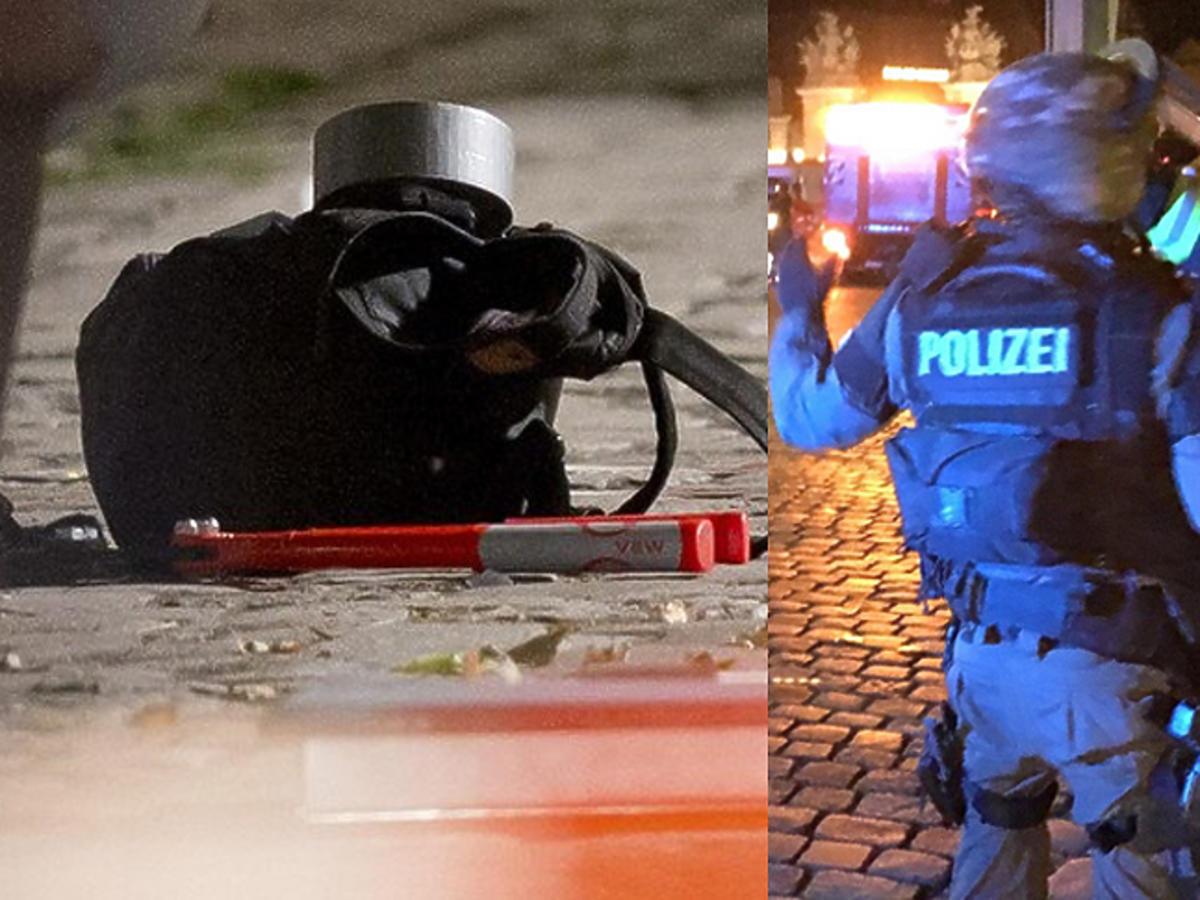 Policjanci na ulicy