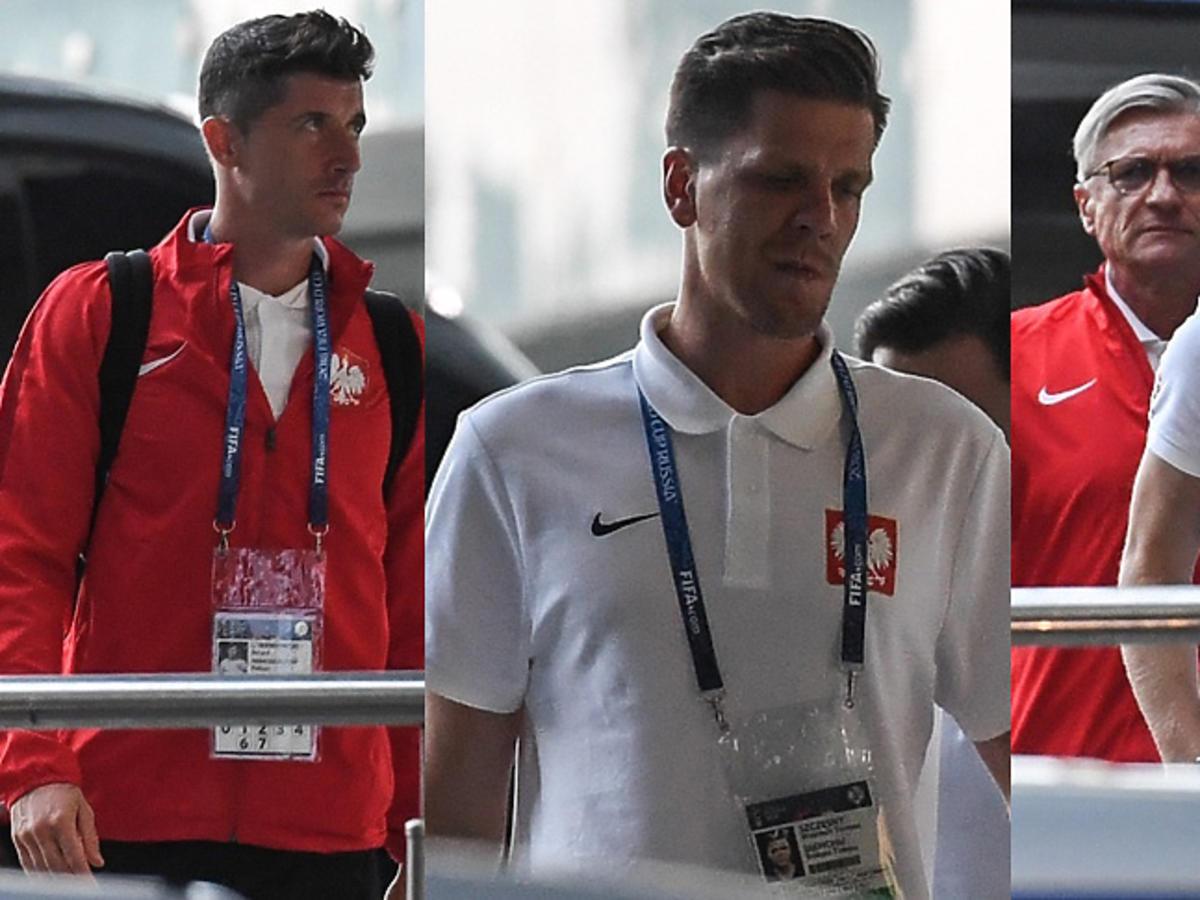 Polscy piłkarze po meczu z Kolumbią wracają do Soczi