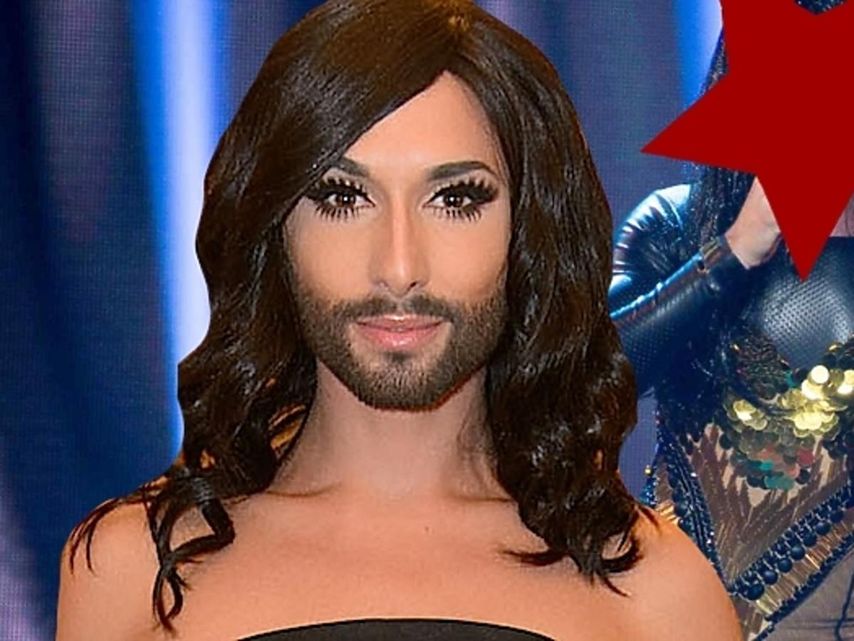Polska Conchita Wurst w Must Be The Music