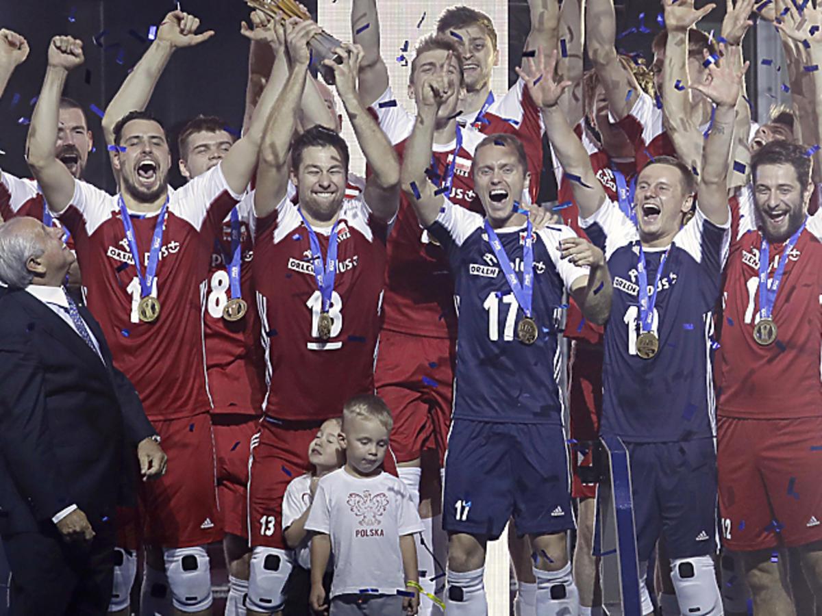 Polska reprezentacja w siatkówce - dekoracja podczas mistrzostw świata