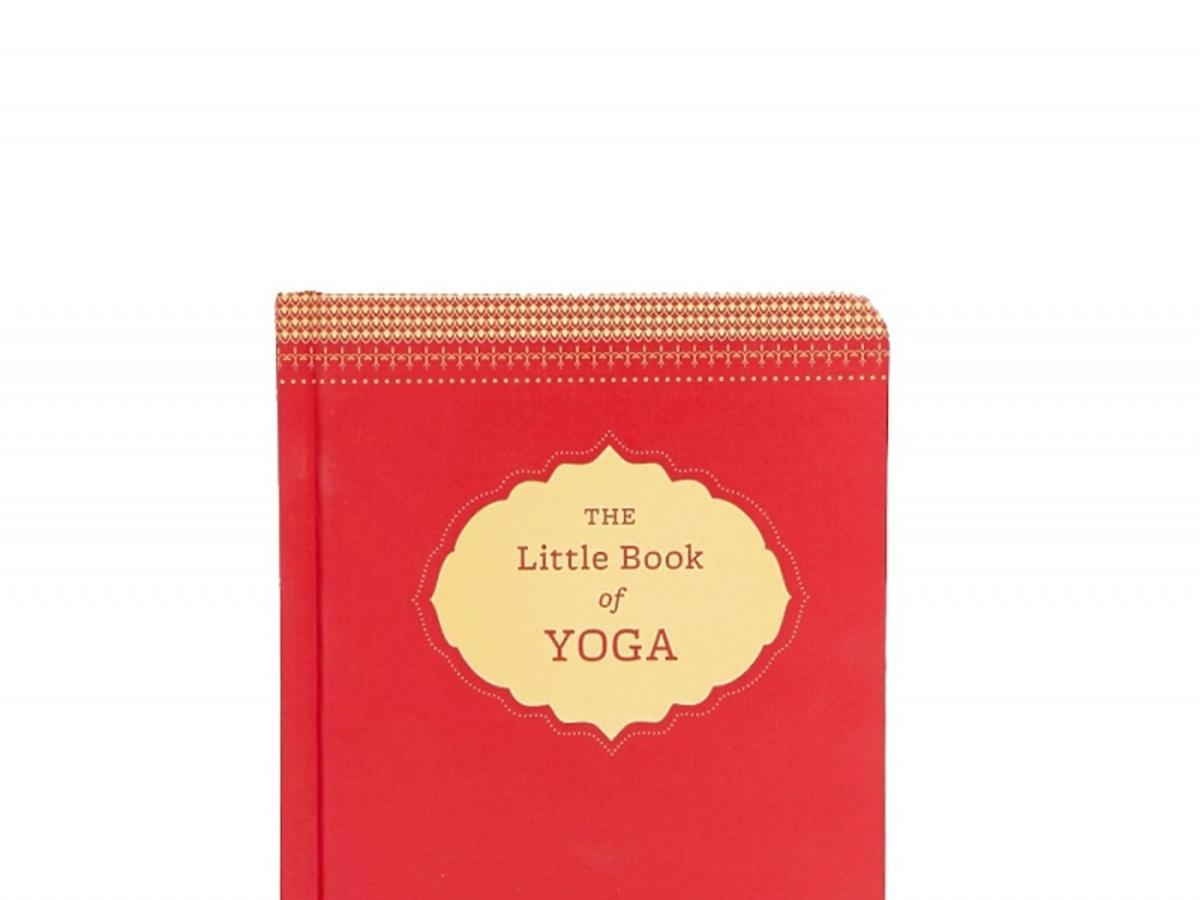 Pomarańczowa książka do jogi The Little Book of Yoga Asos