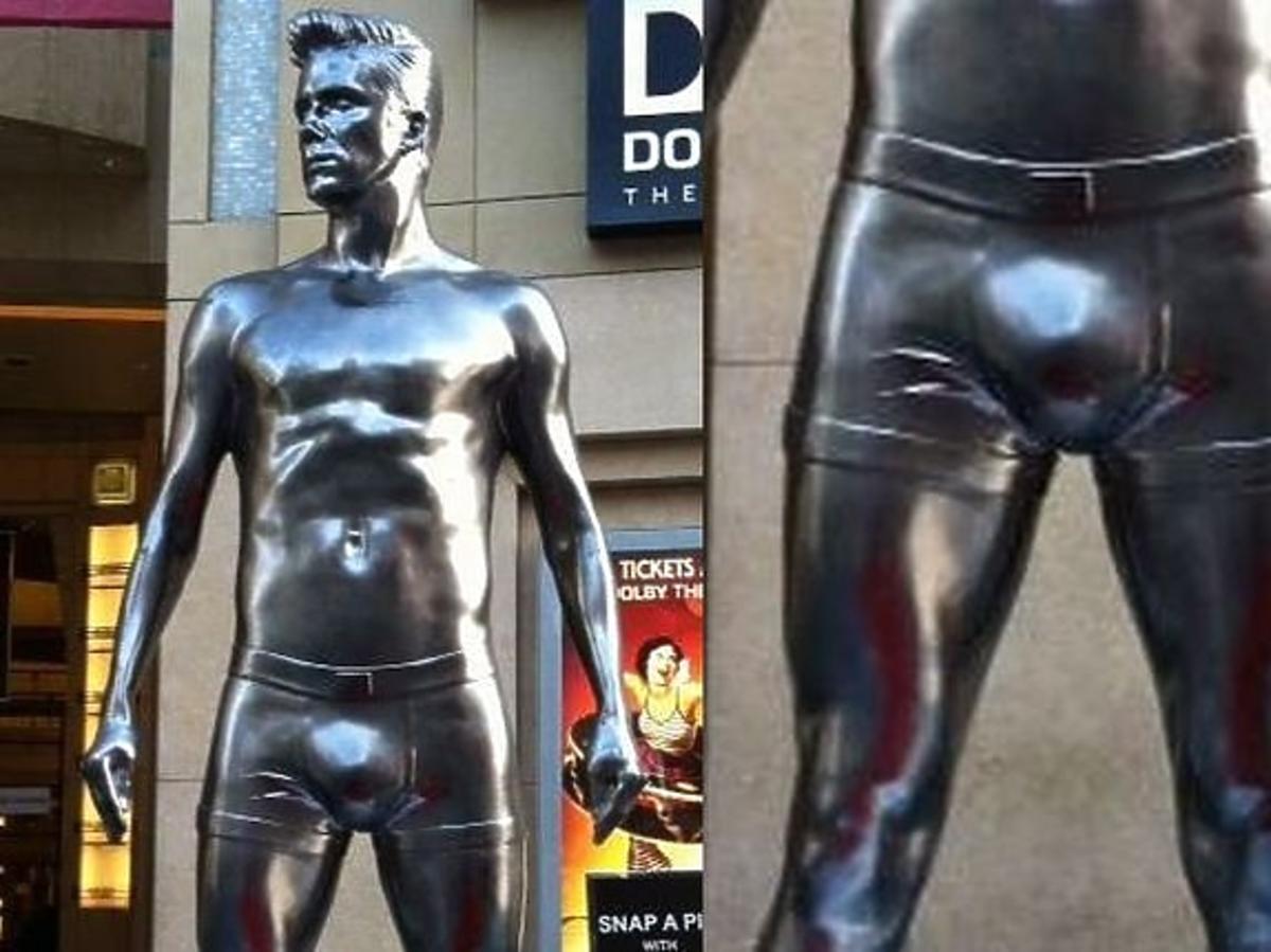 Pomnik Davida Beckhama