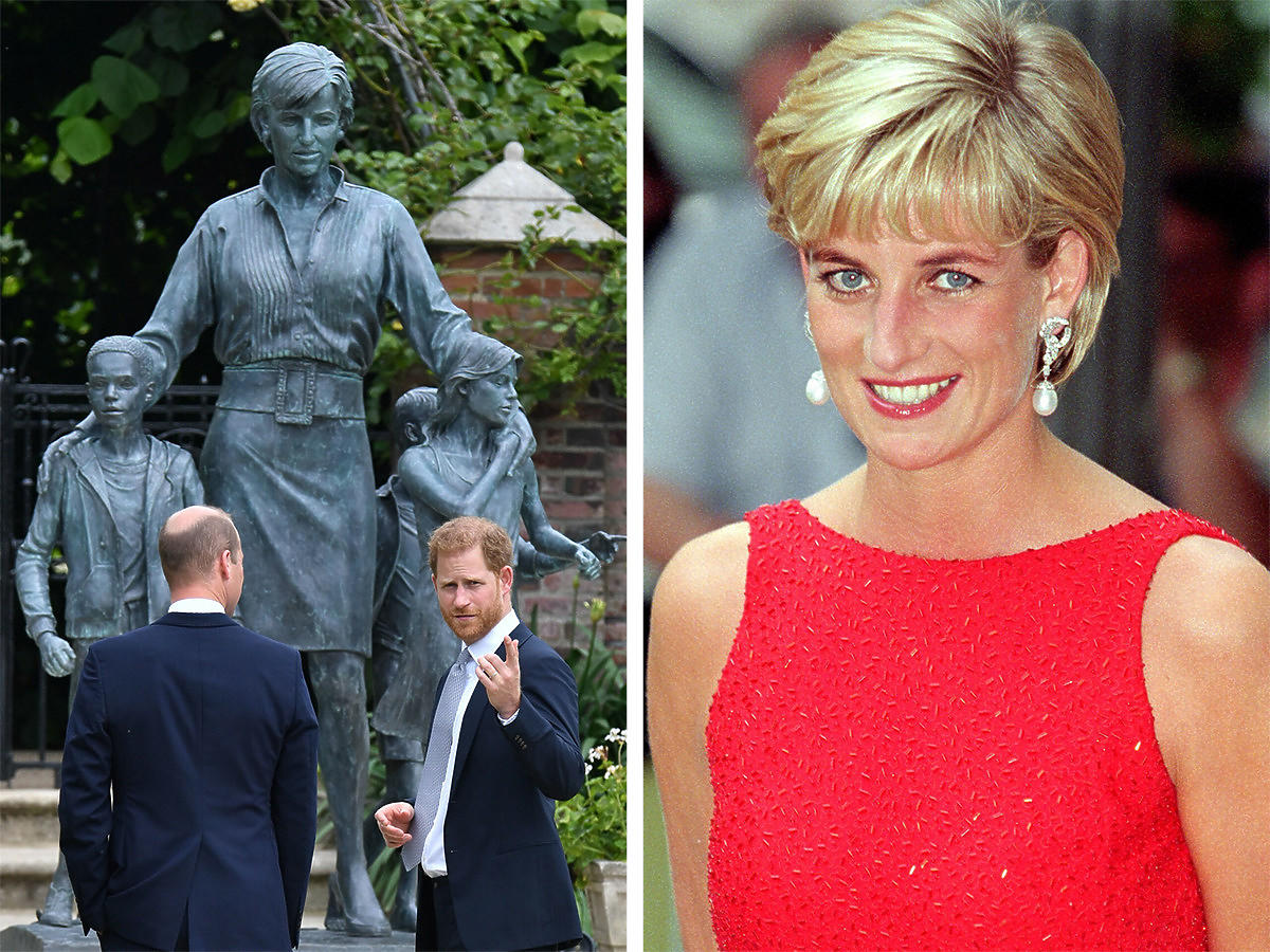 Pomnik księżnej Diany. Kim są dzieci na pomniku?