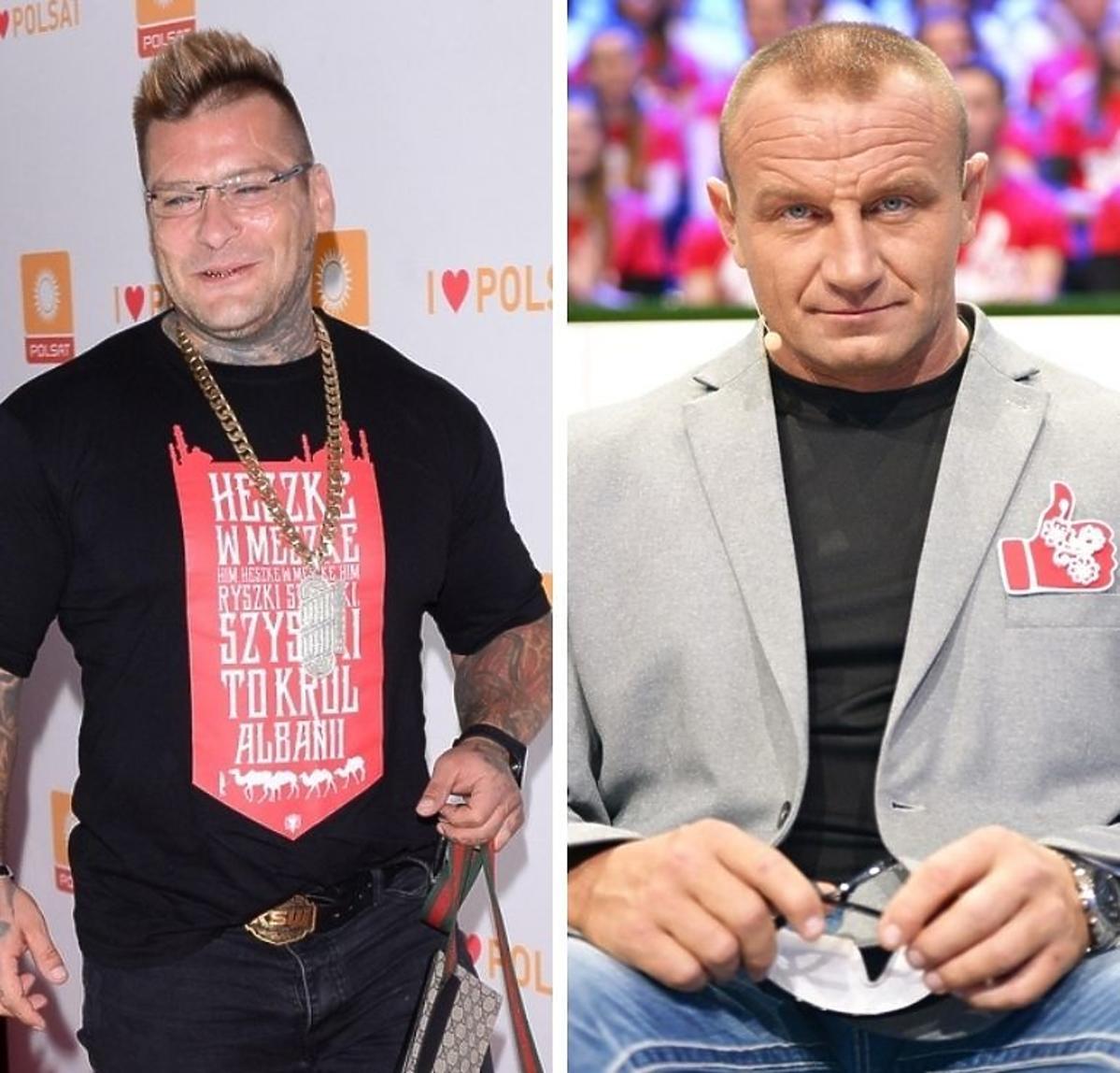 Popek i Mariusz Pudzianowski