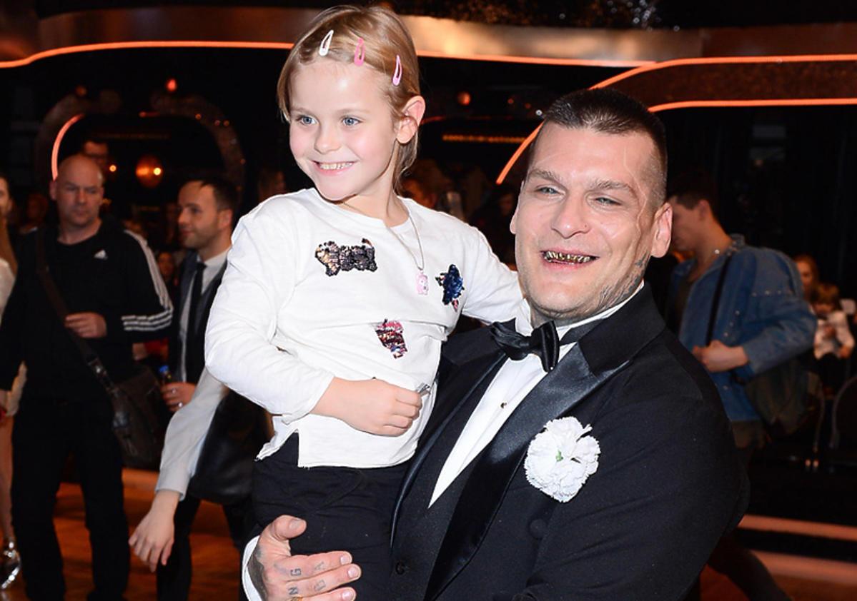 Popek z córką w Tańcu z gwiazdami