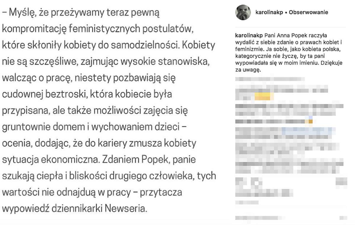 post Korwin Piotrowskiej