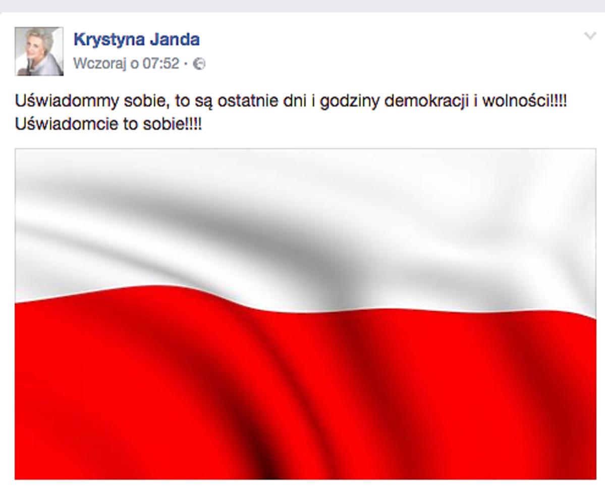 post Krystyny Jandy