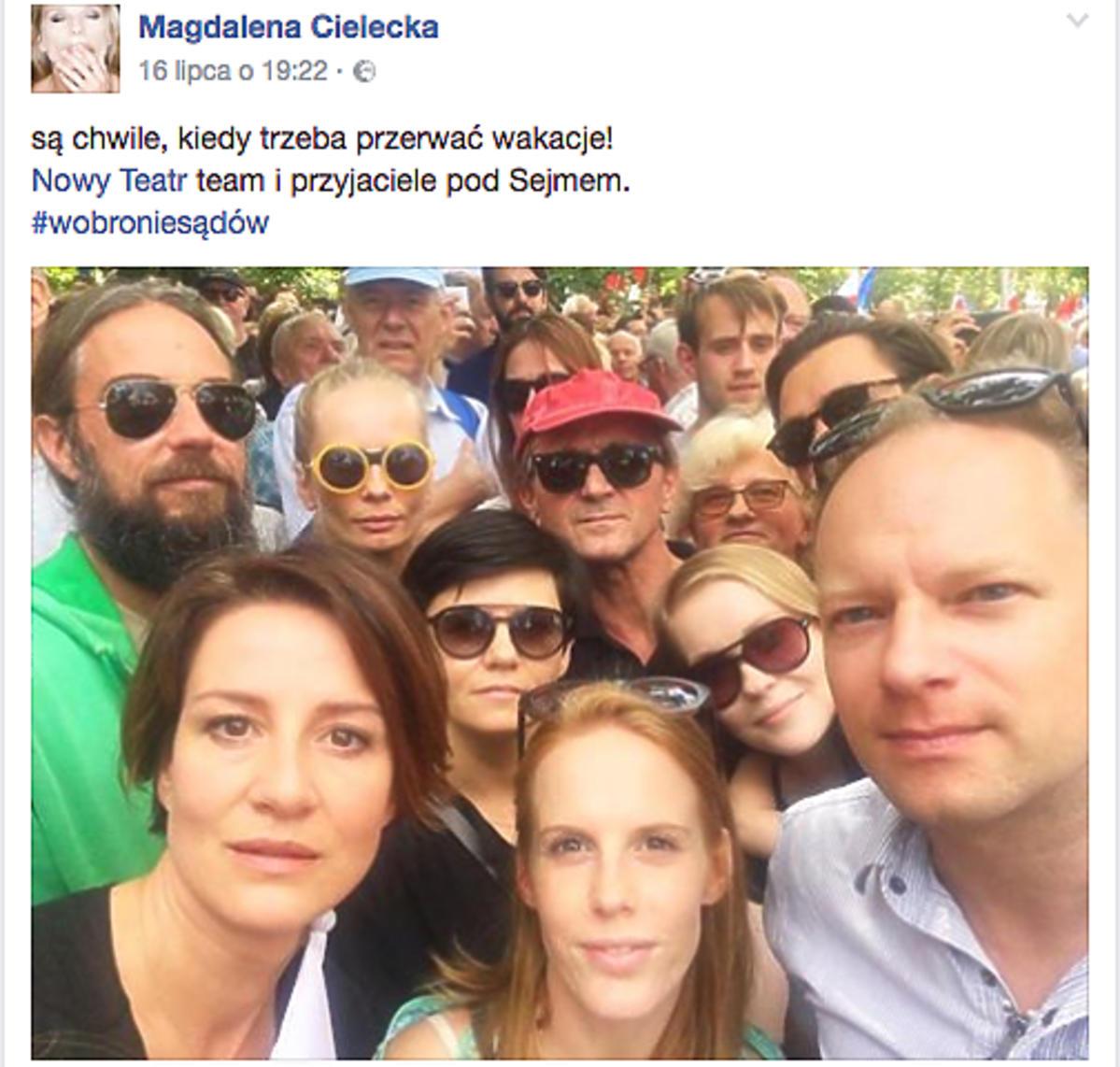 post Magdaleny Cieleckiej