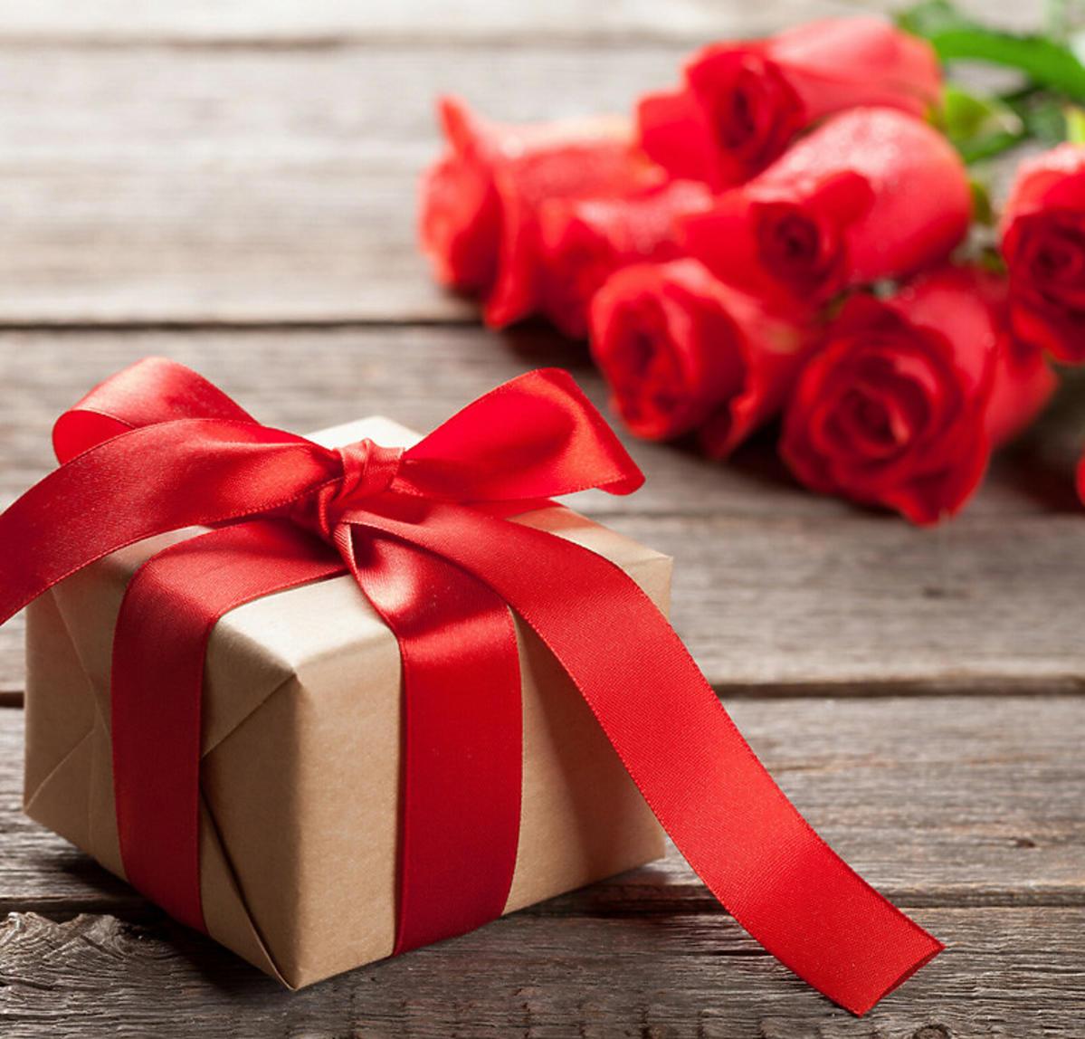 prezent i róże