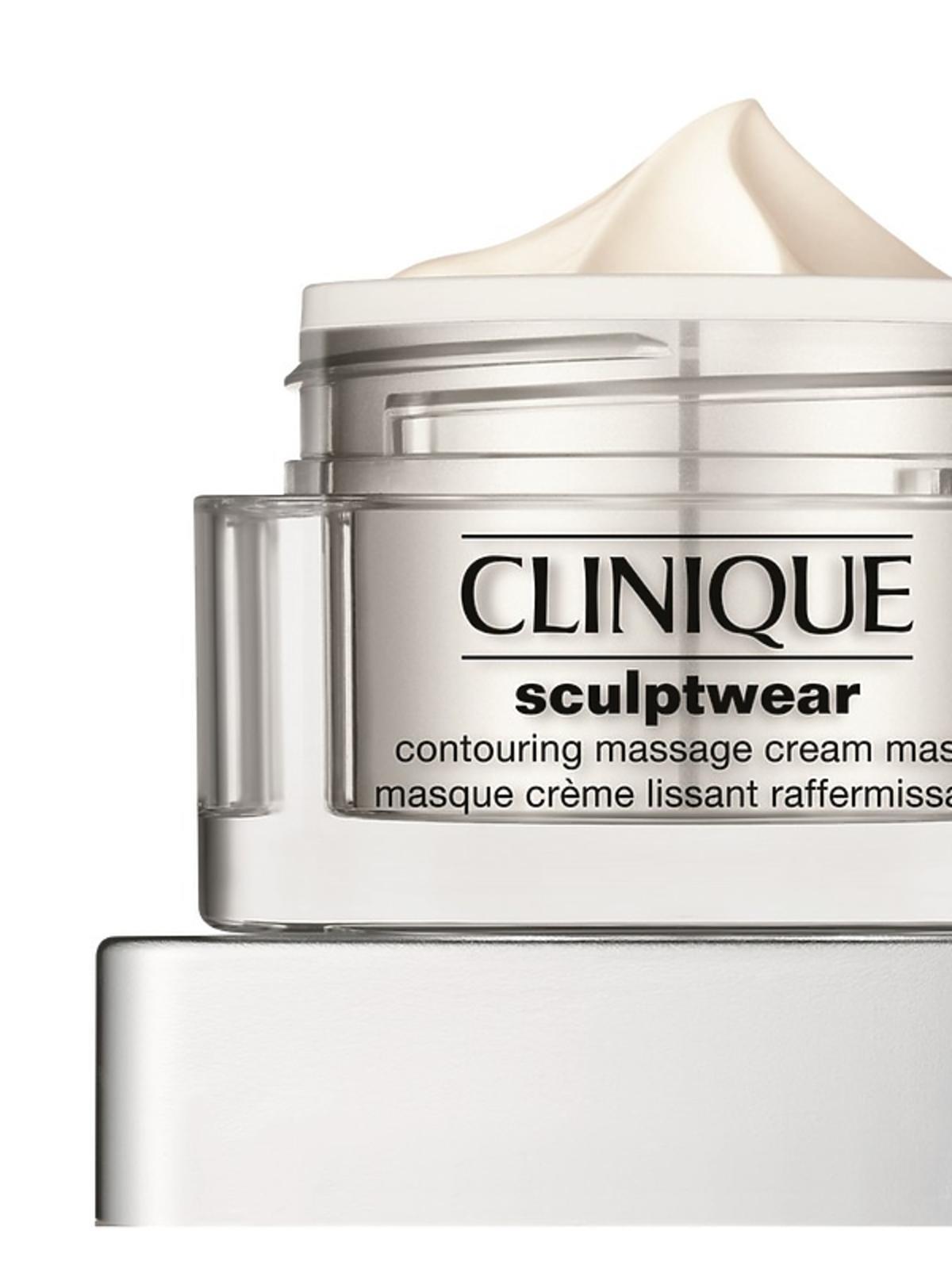 Prezent na święta 2016 dla mamy, kobiety, babci z drogerii: Maseczka Clinique Sculptwear Contouring Massage Cream Mask,