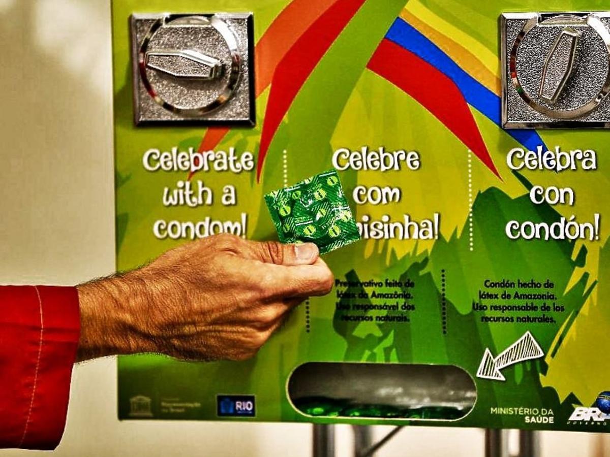 prezerwatywy w Rio