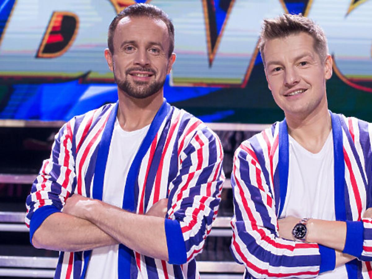 Prezmysław Cypryański i Rafał Mroczek w Dance Dance Dance
