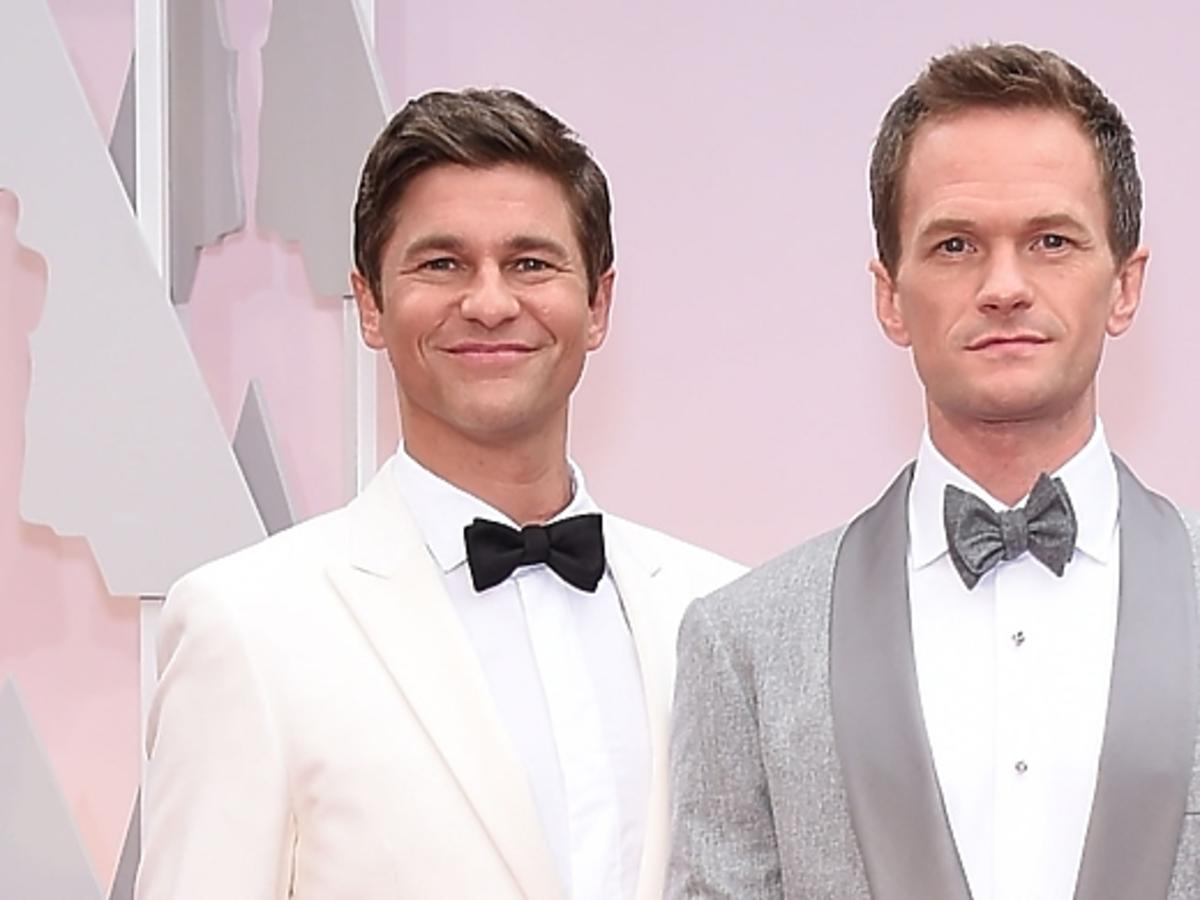 Prowadzący Oscary 2015 z mężem