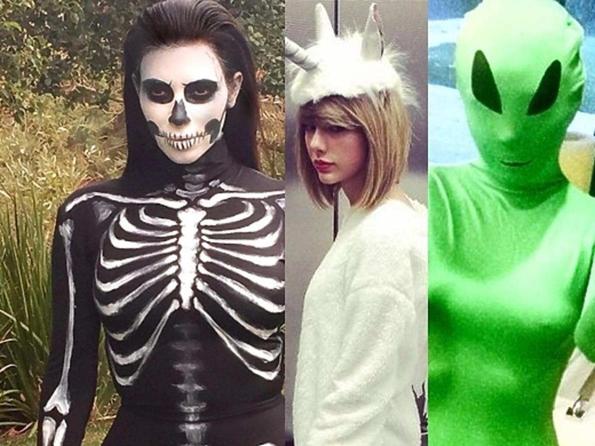 Przebrania zagranicznych gwiazd na Halloween 2014
