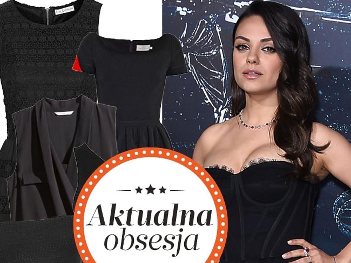 Przeglad czarnych sukienek