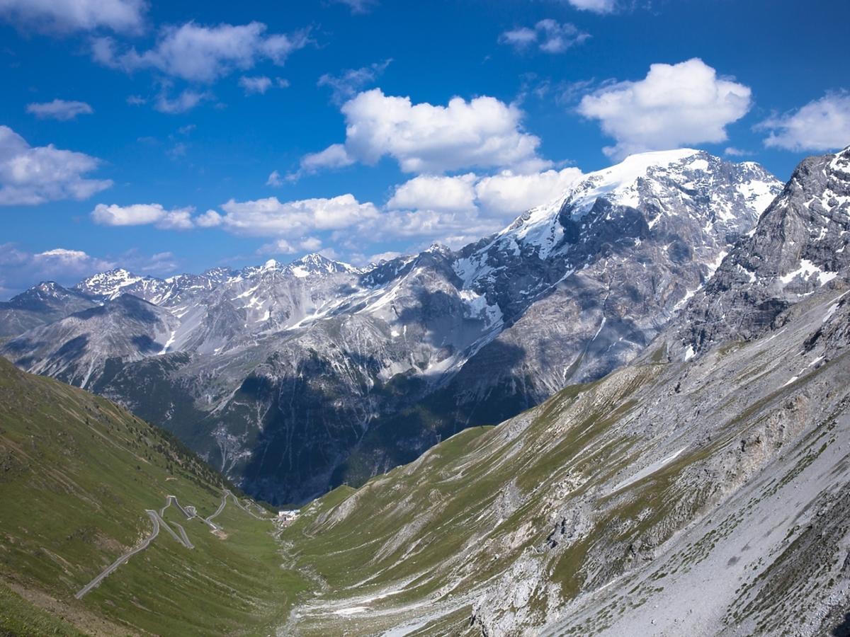 Przełęcz Stelvio, Włochy