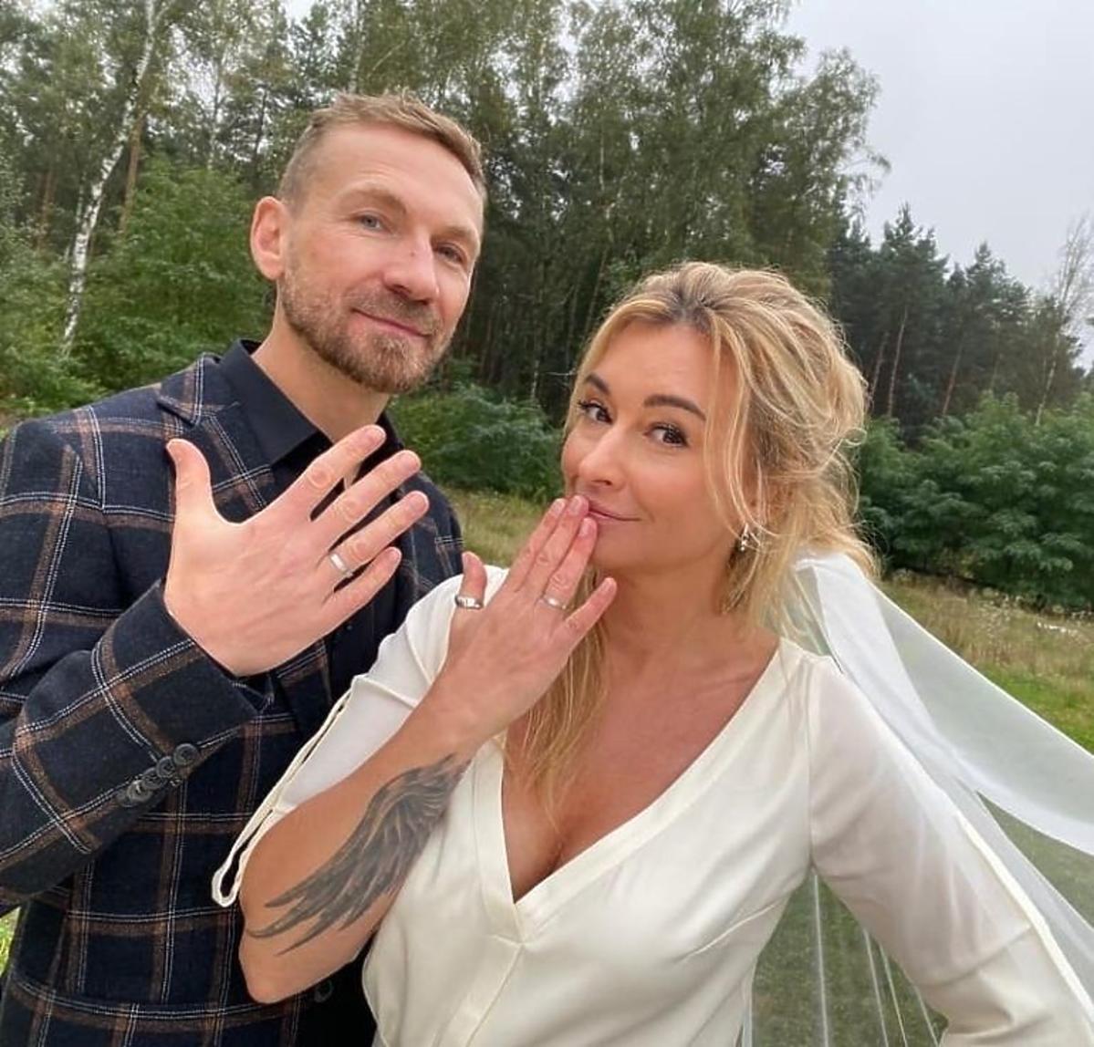 Przemysław Kossakowski i Martyna Wojciechowska wzięli ślub