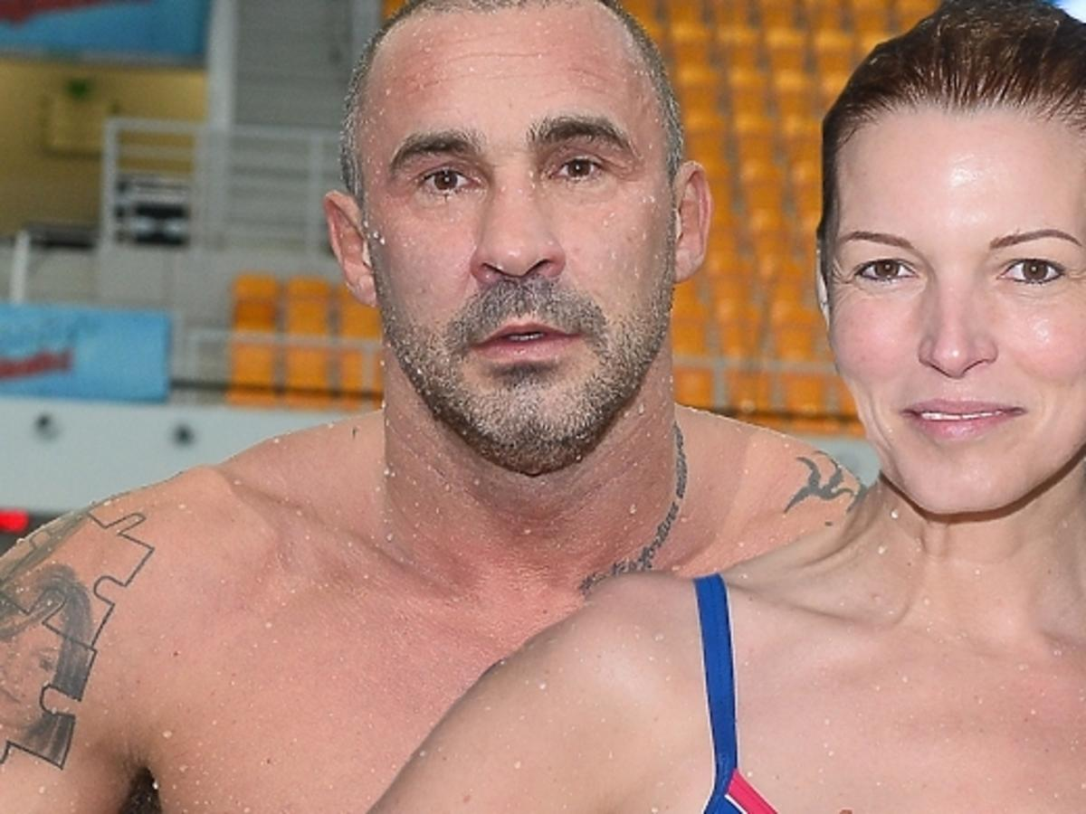 Przemysław Saleta i Ilona Felicjańska odpadli w pierwszym odcinku Celebrity Splash