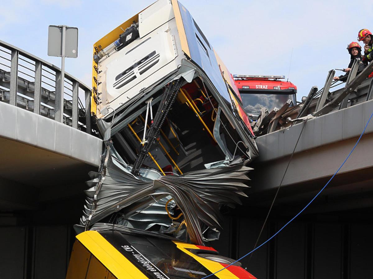 Przyczyny wypadku na trasie S8 w Warszawie