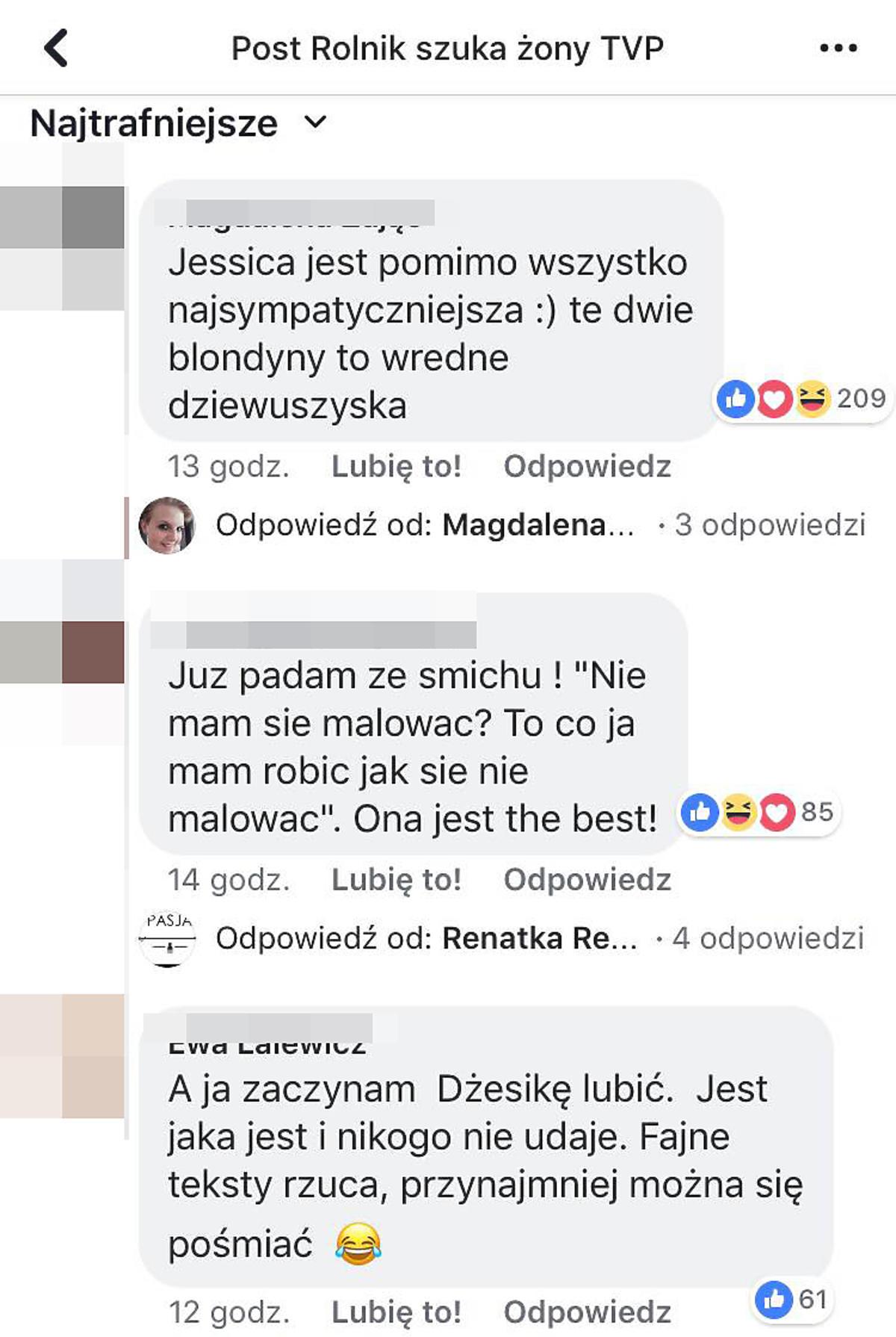 Przygody Jessiki z Rolnik szuka żony