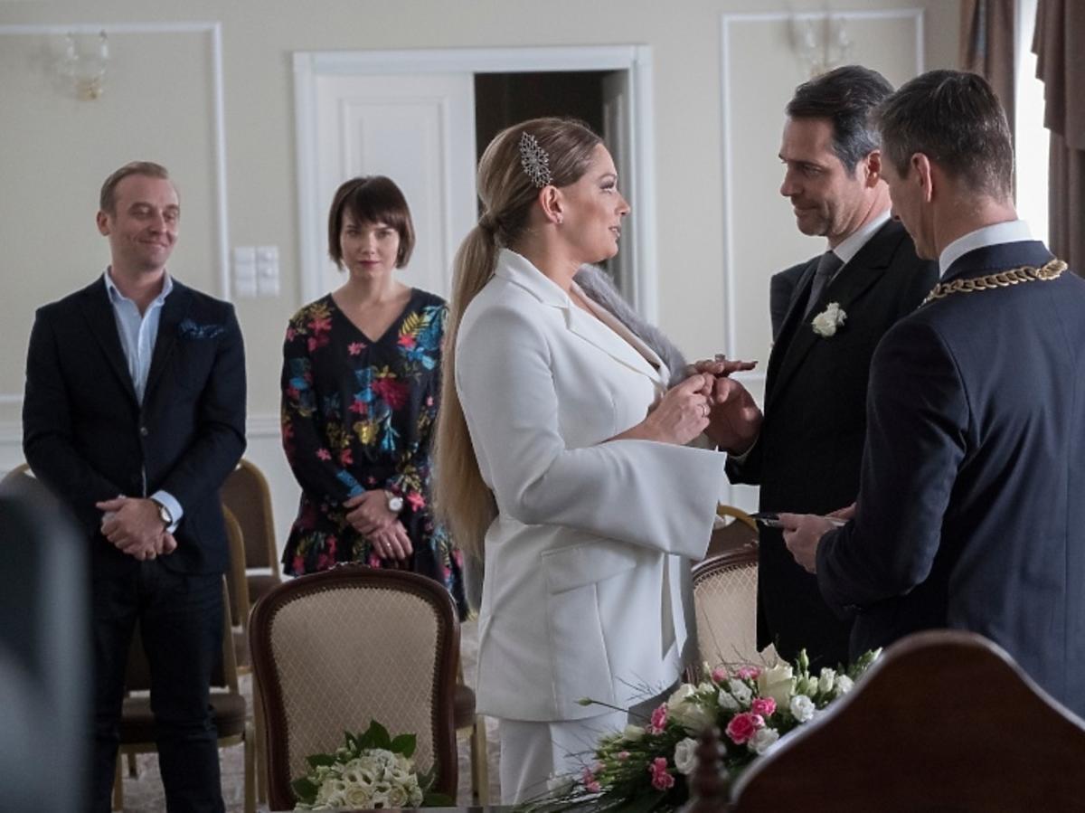 Przyjaciółki 11, Patrycja, Wiktor, Joanna Liszowska, Paweł Deląg, ślub Patrycji z Przyjaciółek