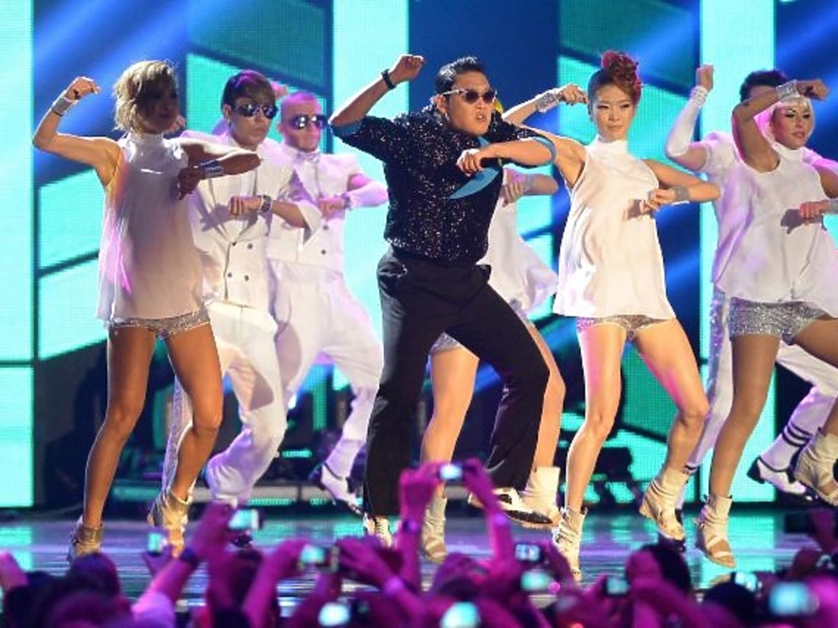 PSY na gali MTV EMA 2012