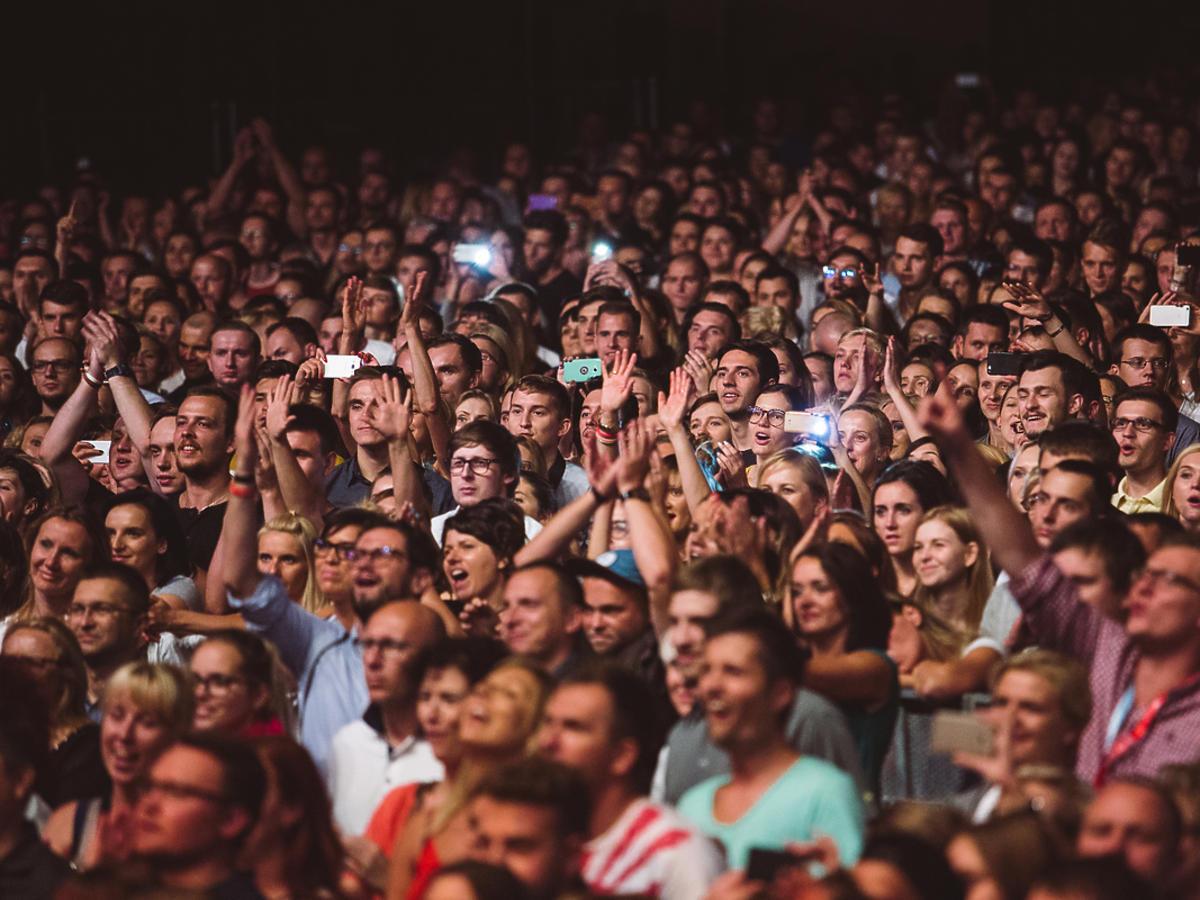 Publiczność na koncercie Jimka