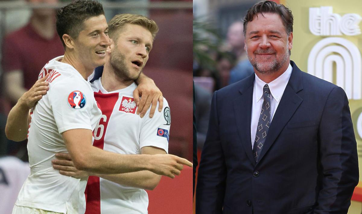 PZPN zaprasza Russella Crowe na mecz Reprezentacji Polski