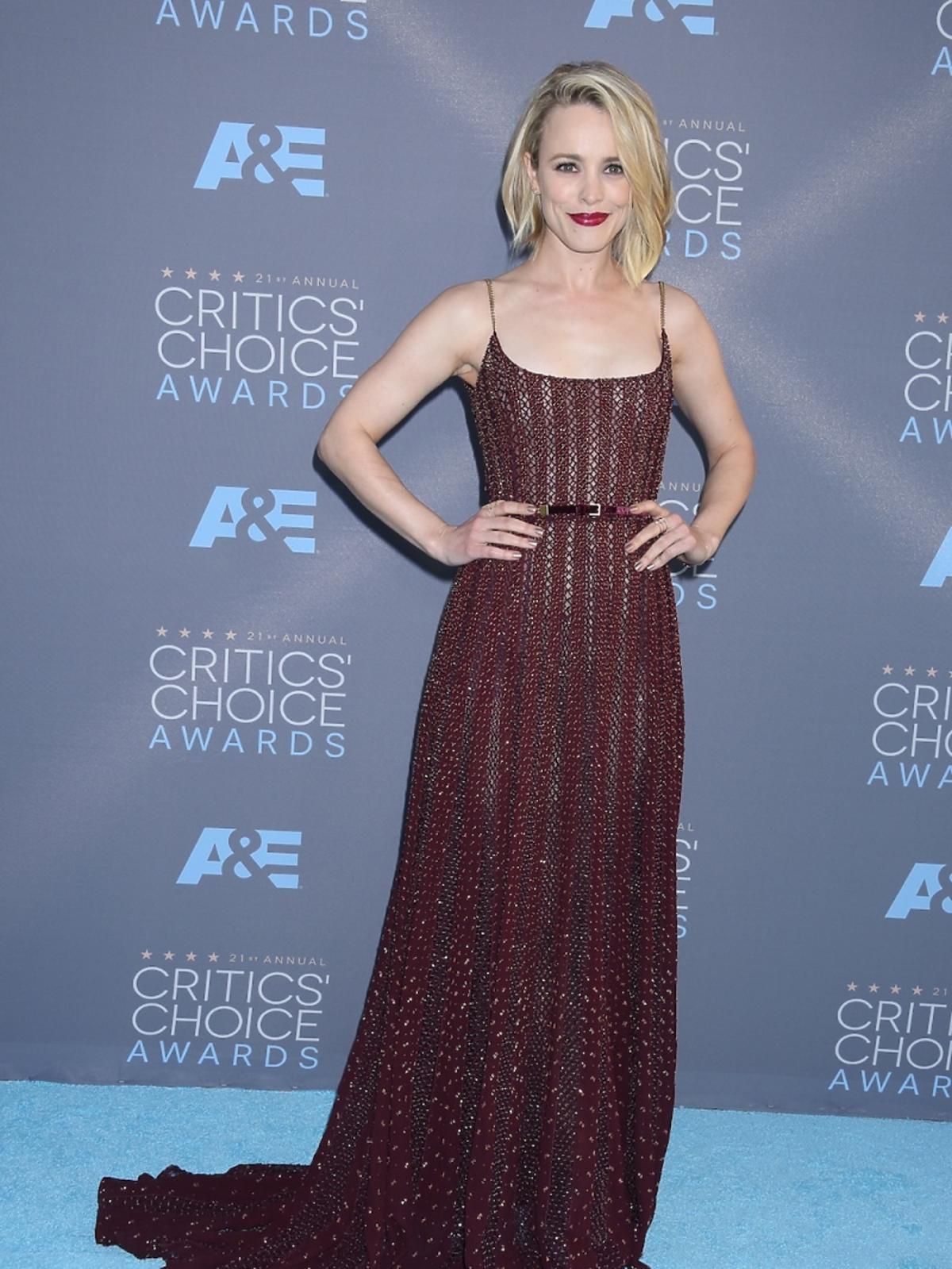 Rachel McAdams na Critics Choice Awards 2016