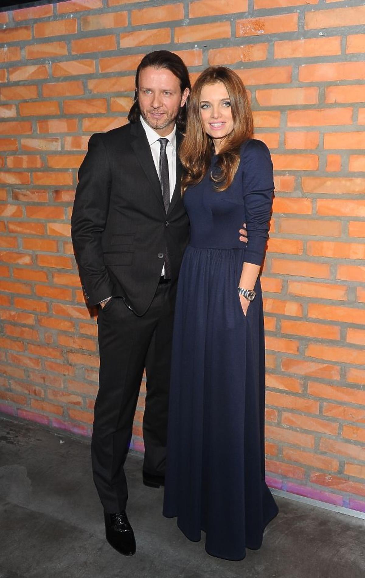 Radosław Majdan i Sylwia Majdan