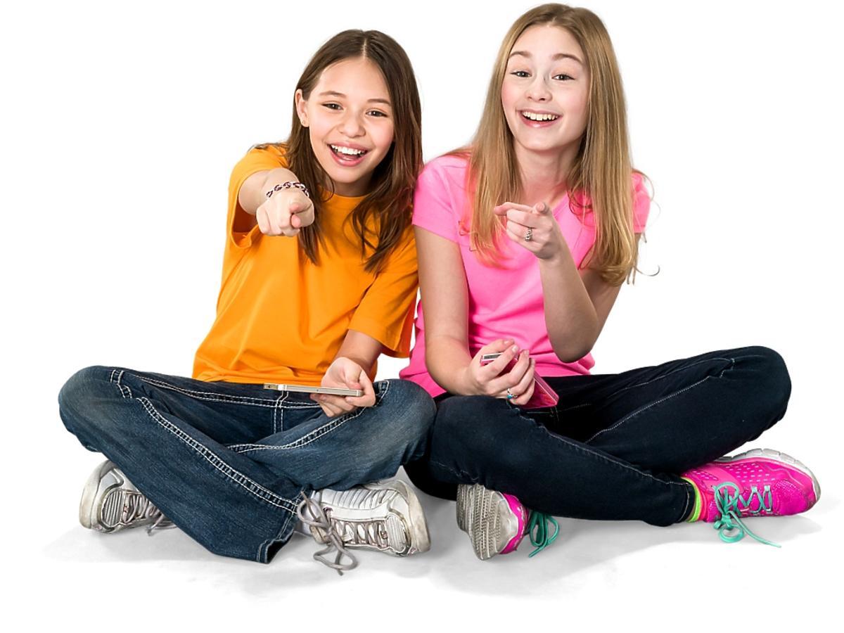 radosne nastolatki