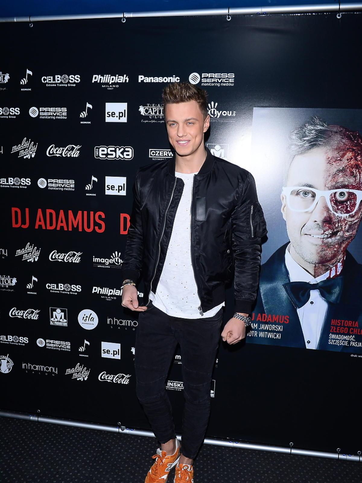 Rafał Jonkisz na urodzinach DJa Adamusa