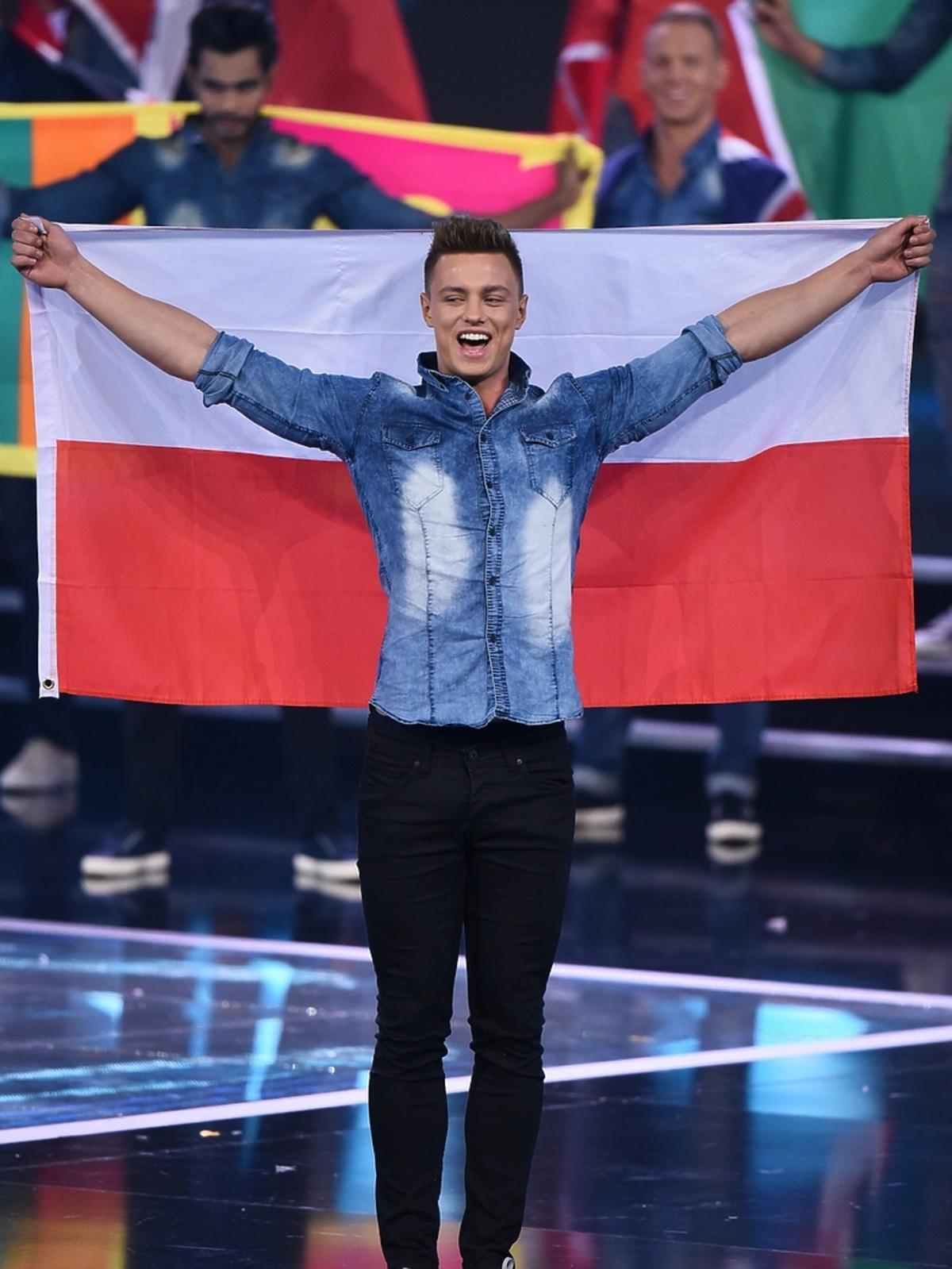 Rafał Jonkisz na wyborach Mister Supranational