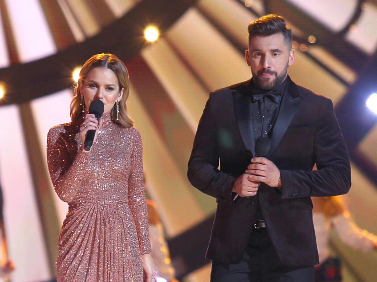 Rafał Maserak i Paulina Sykut