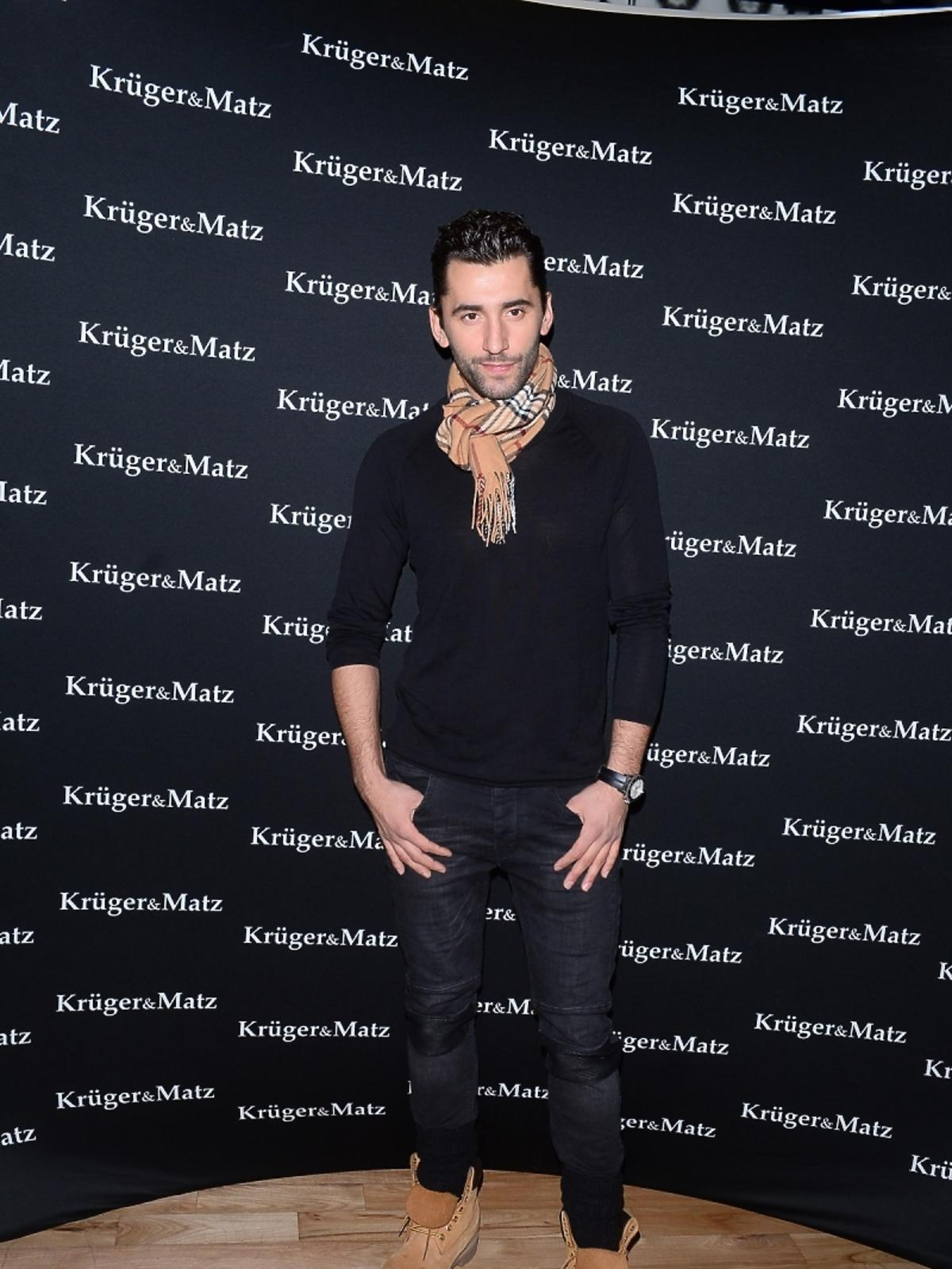 Rafał Maserak na imprezie marki Kruger&Matz