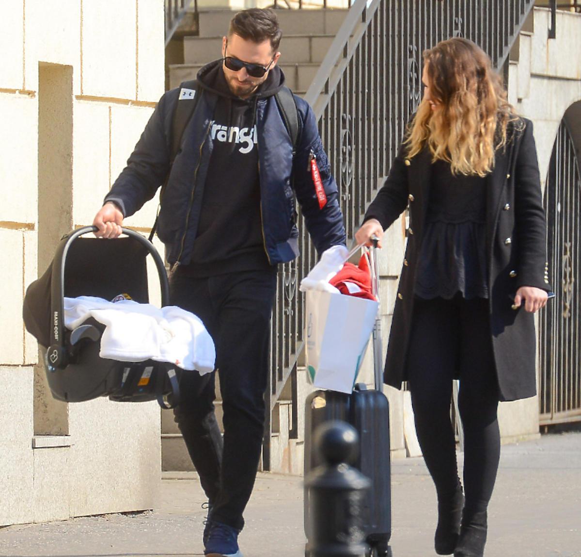 Rafał Maślak i Kamila Nicpoń wyszli ze szpitala