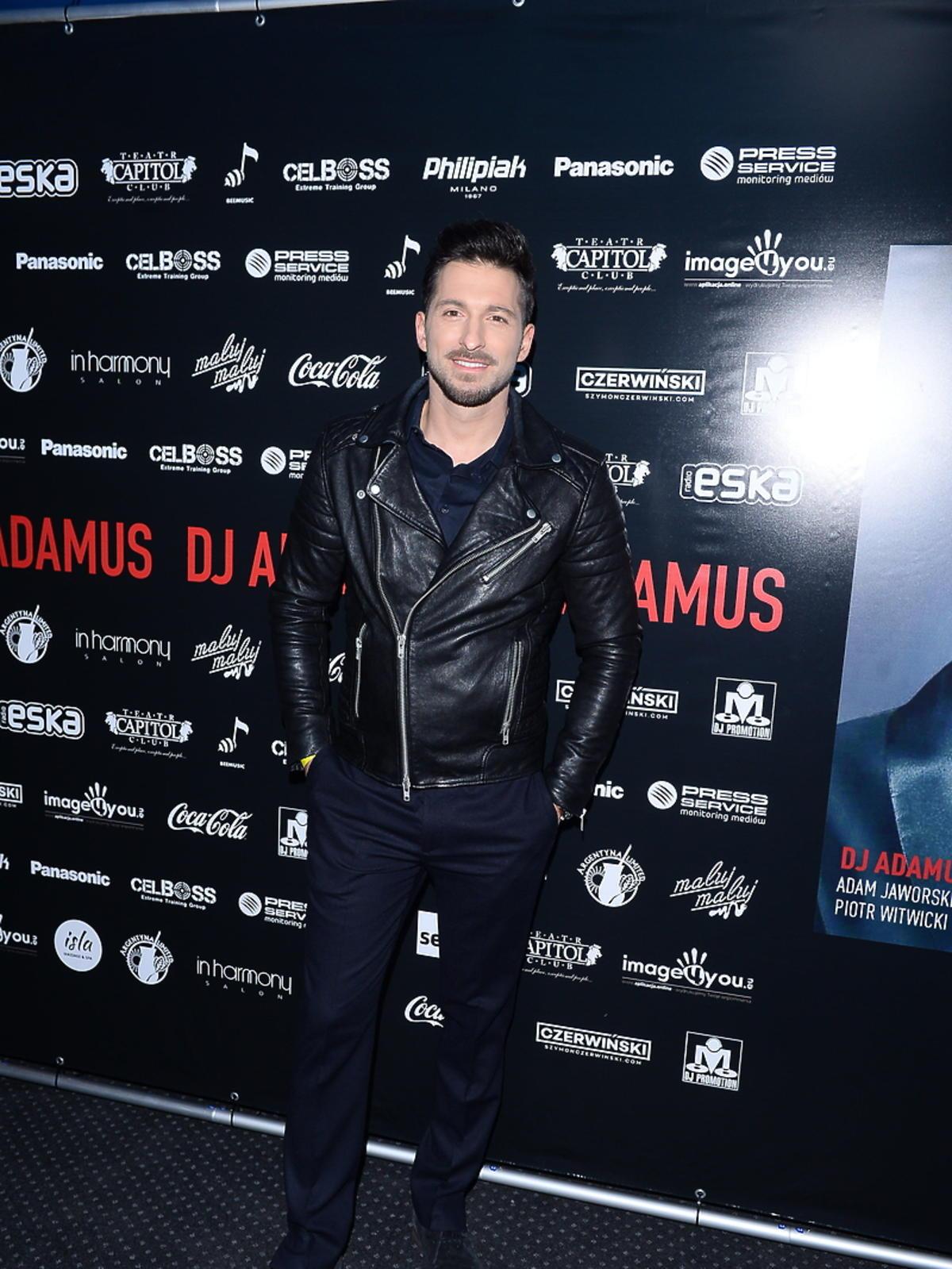 Rafał Maślak na urodzinach DJa Adamusa